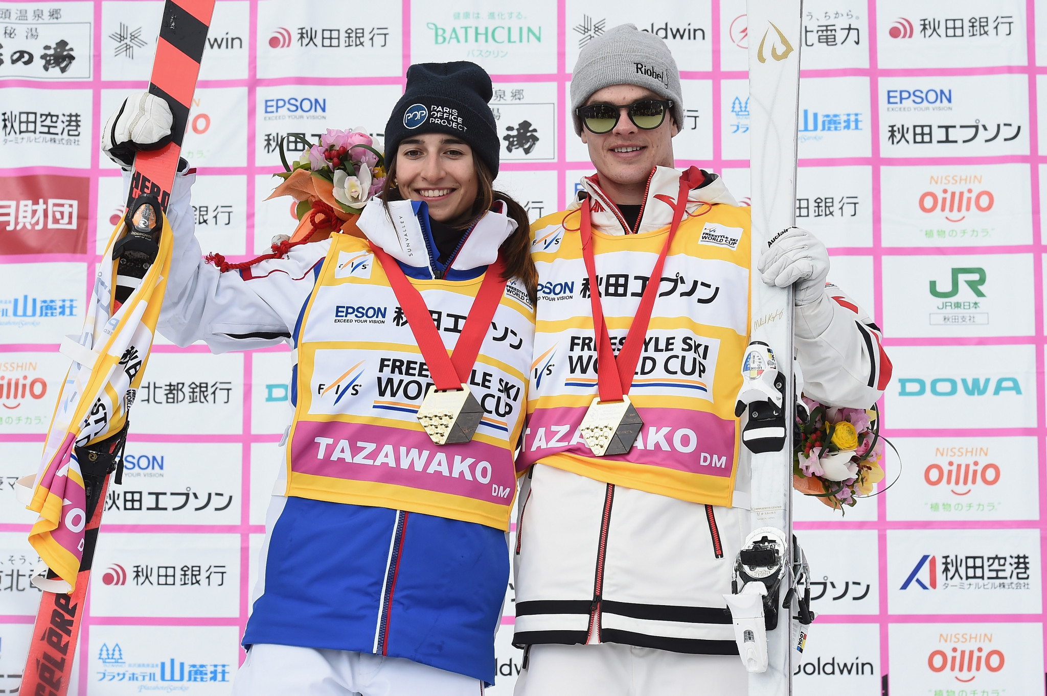 Laffont and Kingsbury win Freestyle World Cups and moguls