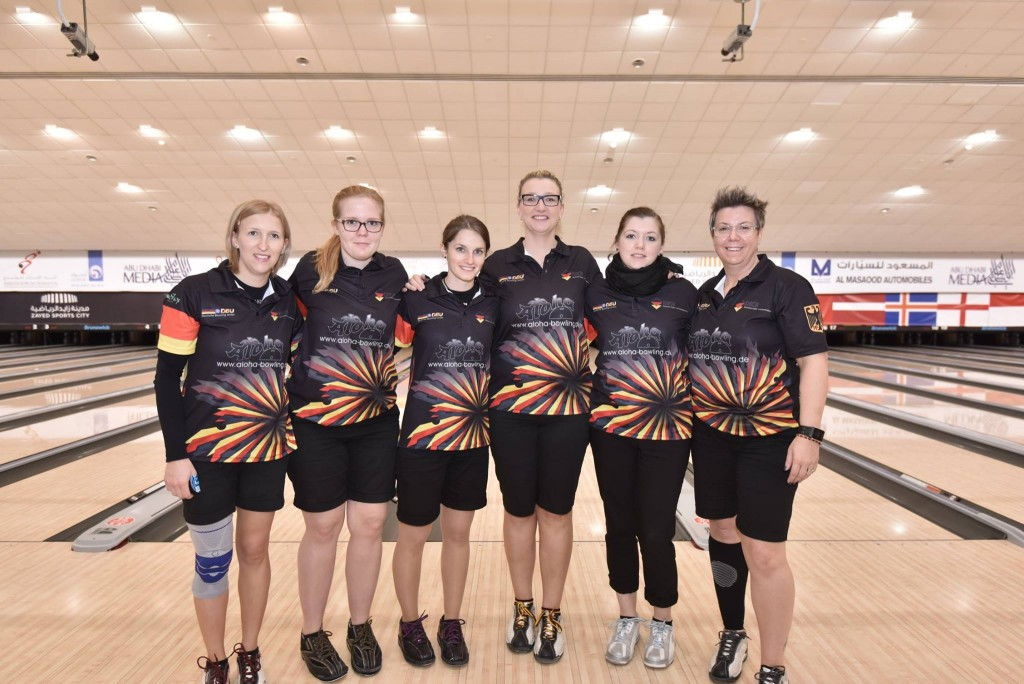 Germany top team standings at World Bowling Women's Championships