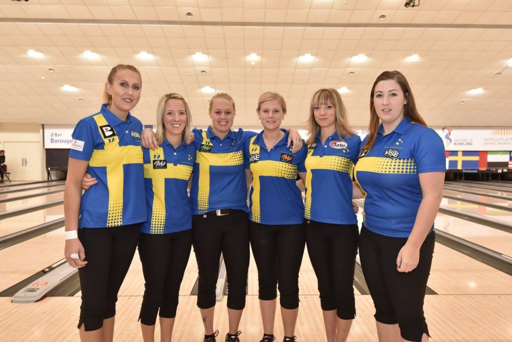 Sweden are currently second in the standings