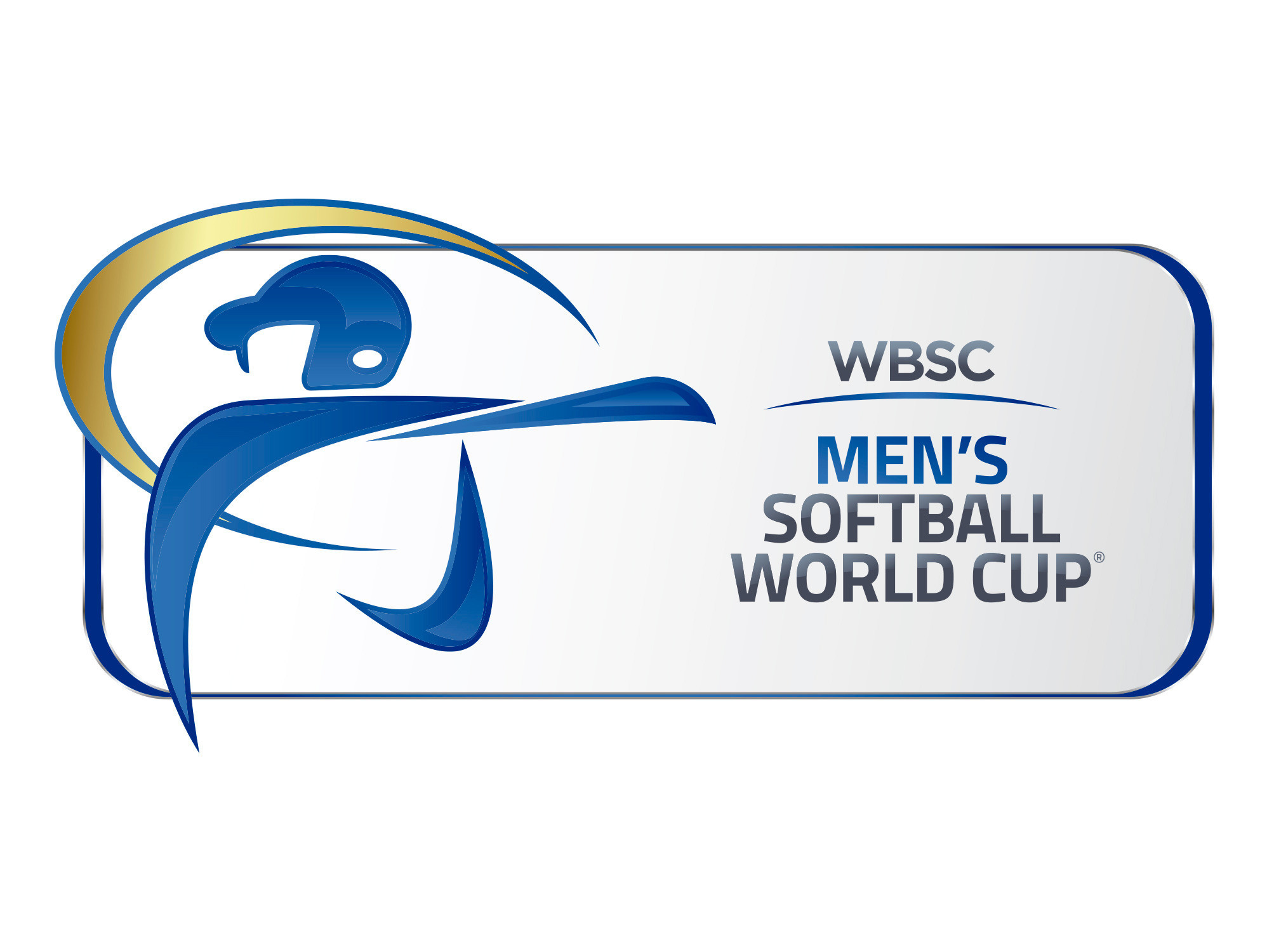 Emblem for inaugural WBSC Men's Softball World Cup revealed