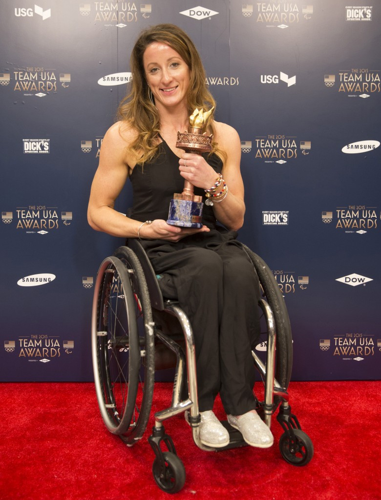 USOC reveal winners of Team USA Paralympic awards for 2015