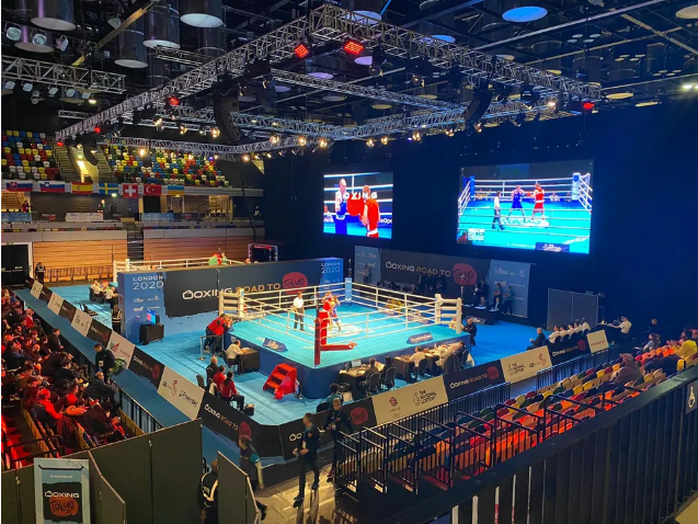 The IOC Boxing Taskforce has today decided to suspend the current European Olympic Qualifying Tournament in London ©Boxing Road to Tokyo