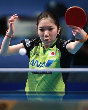 Women's top seed Fukuhara suffers shock defeat to doubles partner at ITTF World Tour Grand Finals