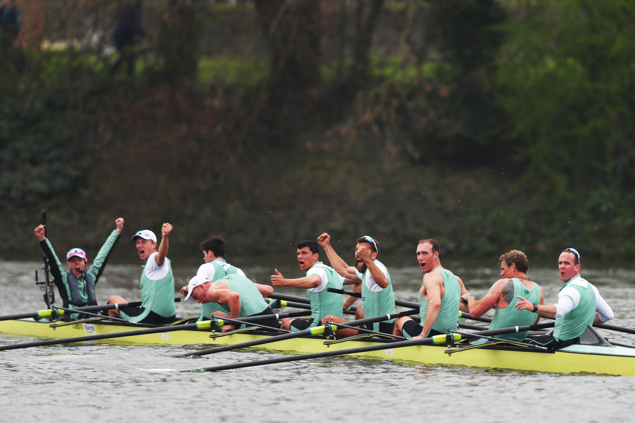 Last year, Cambridge won both the men's and women's events at the 165th Boat Race ©Getty Images