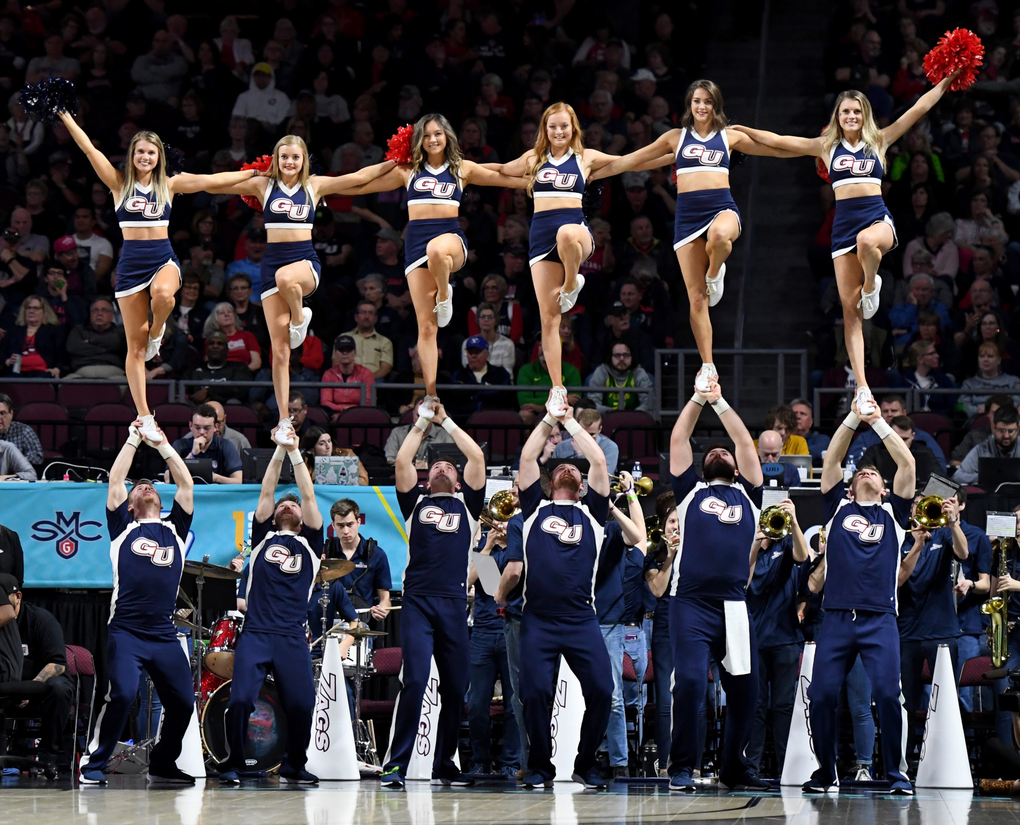 Cheerleading should be in contention for a Paris 2024 place, Ryan Foster believes ©Getty Images