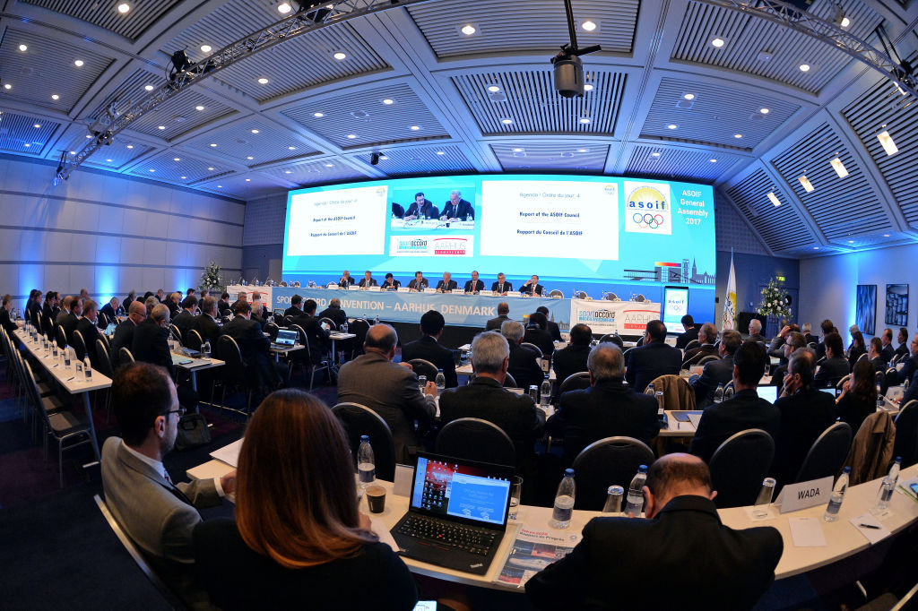 ASOIF traditionally holds its General Assembly during the SportAccord World Sport and Business Summit ©Getty Images