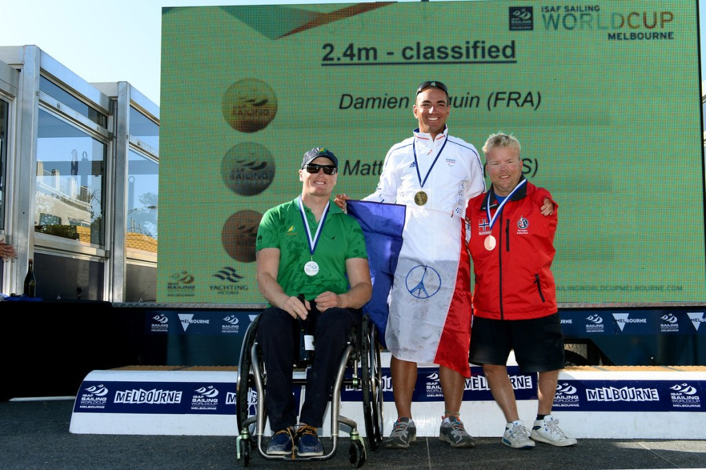 Seguin continues success by sealing Sailing World Cup gold as Paralympic events conclude