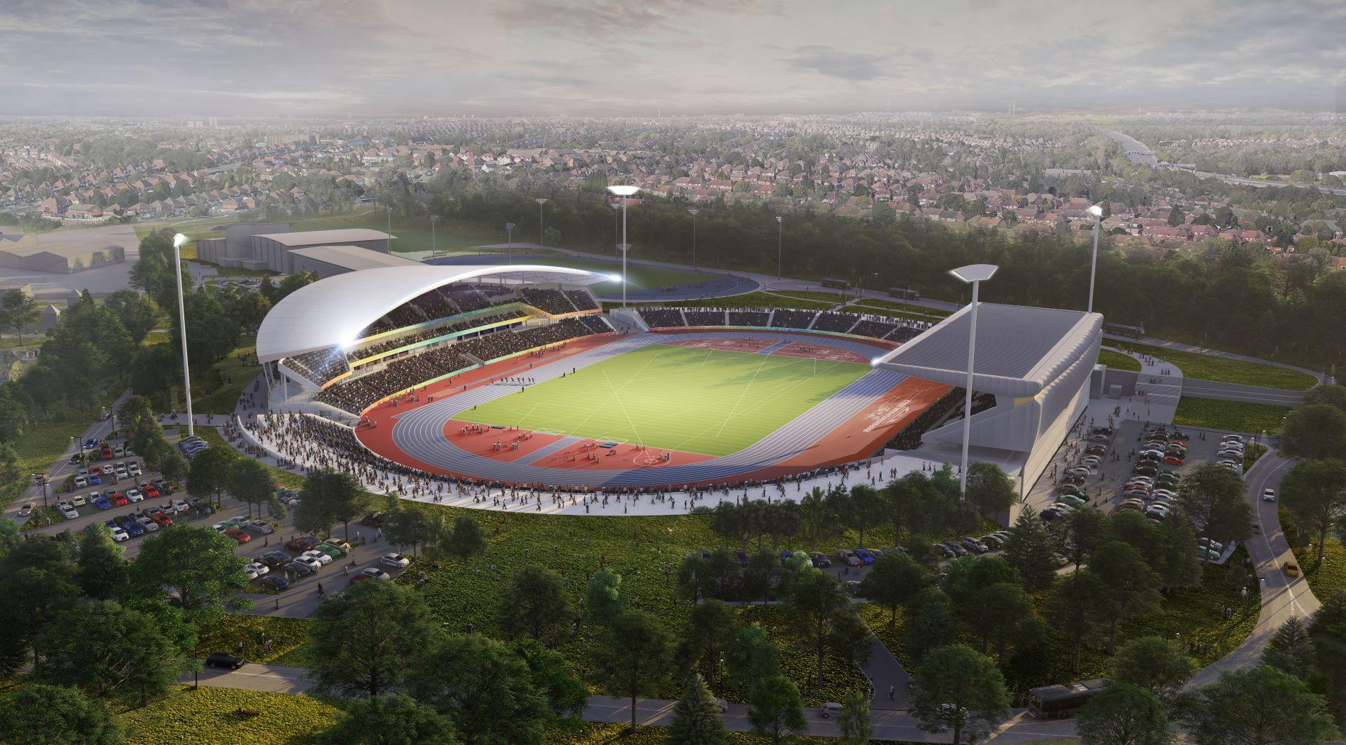 Revamp of Alexander Stadium to be completed only three months before Birmingham 2022