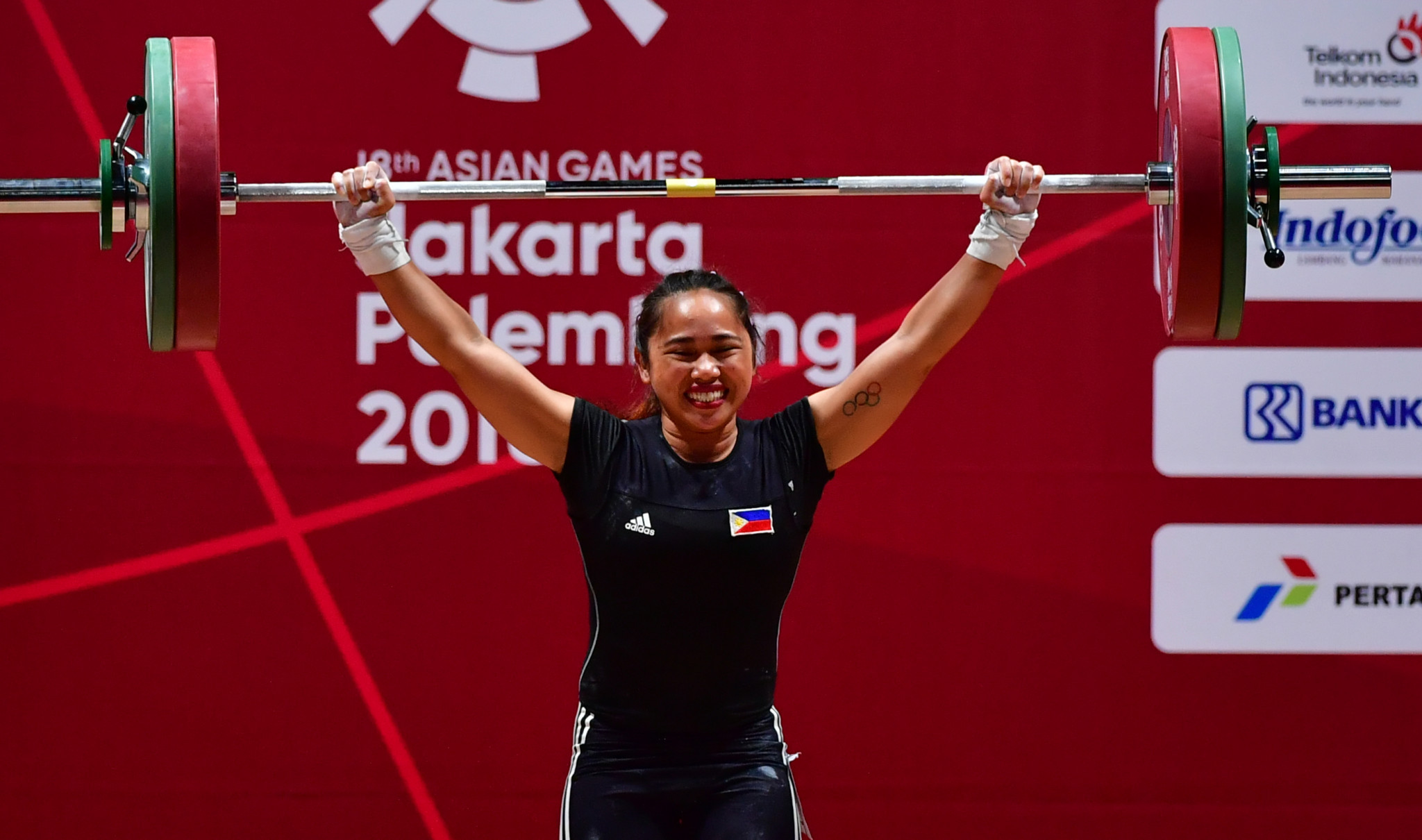 "Asian Games weightlifting champion Diaz remaining ""focused"" for Tokyo 2020"