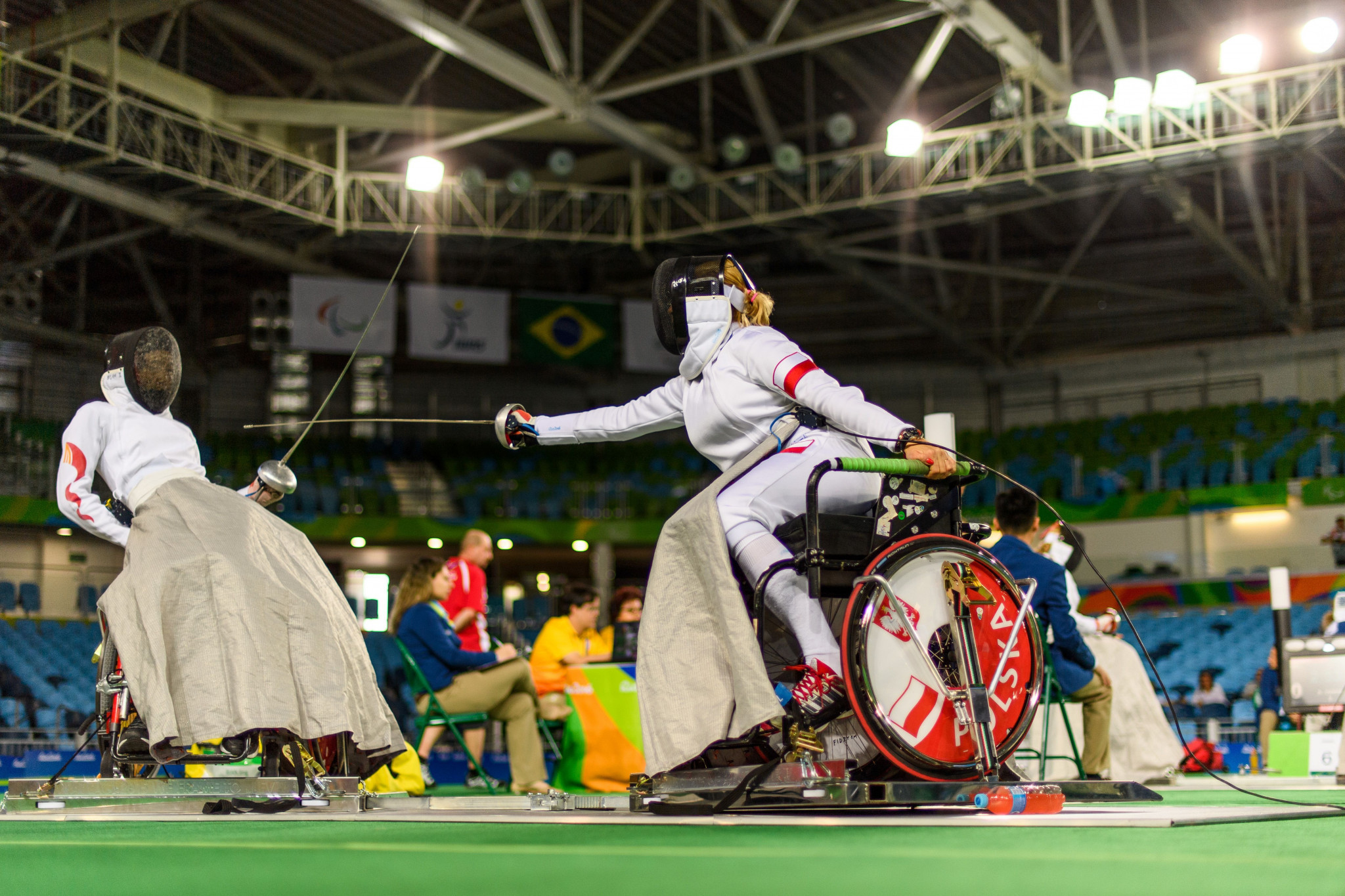 IWAS Wheelchair Fencing has updated its ranking process for the Tokyo 2020 Paralympic Games ©Getty Images
