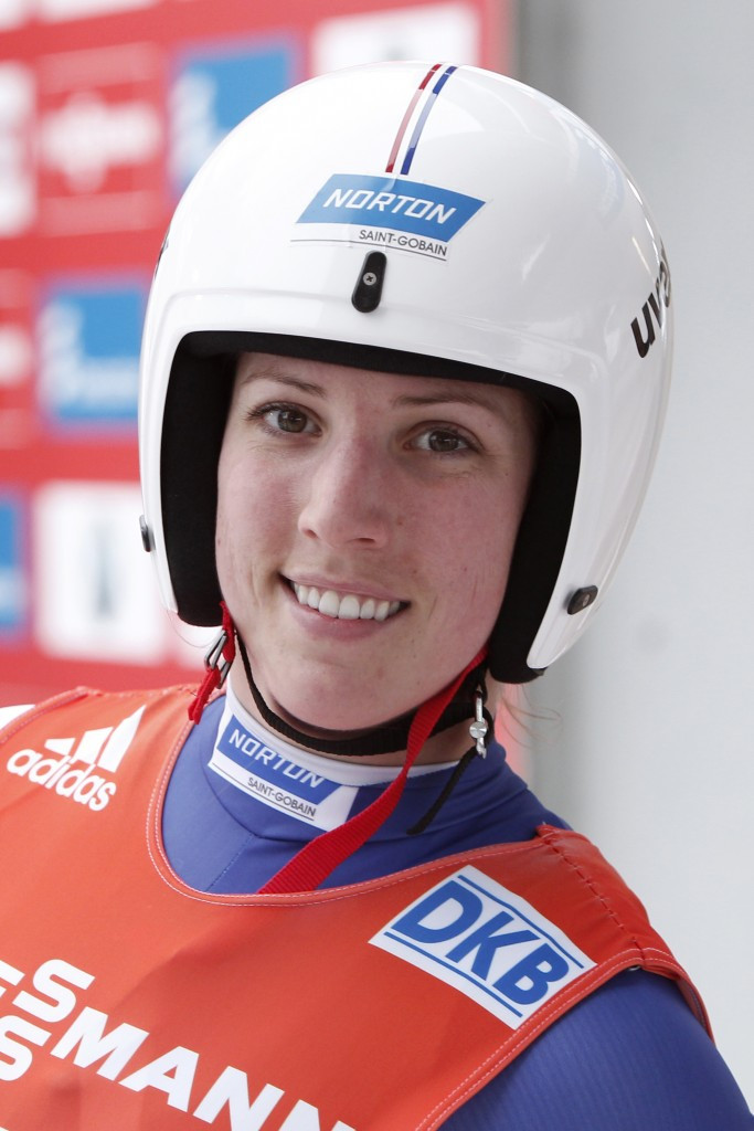 Erin Hamlin retained the overall World Cup lead on a good day for the Americans