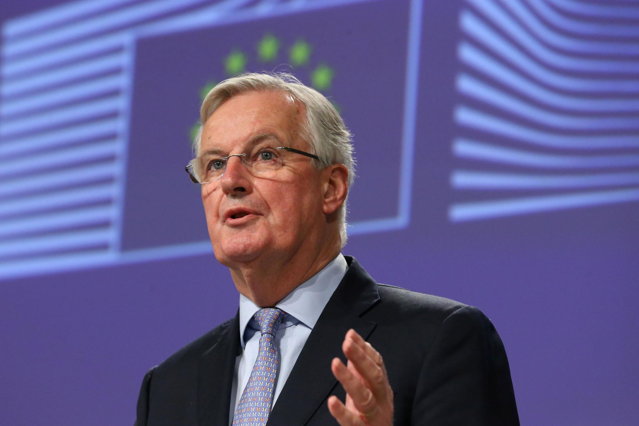Albertville 1992 Co-President Barnier tests positive for coronavirus