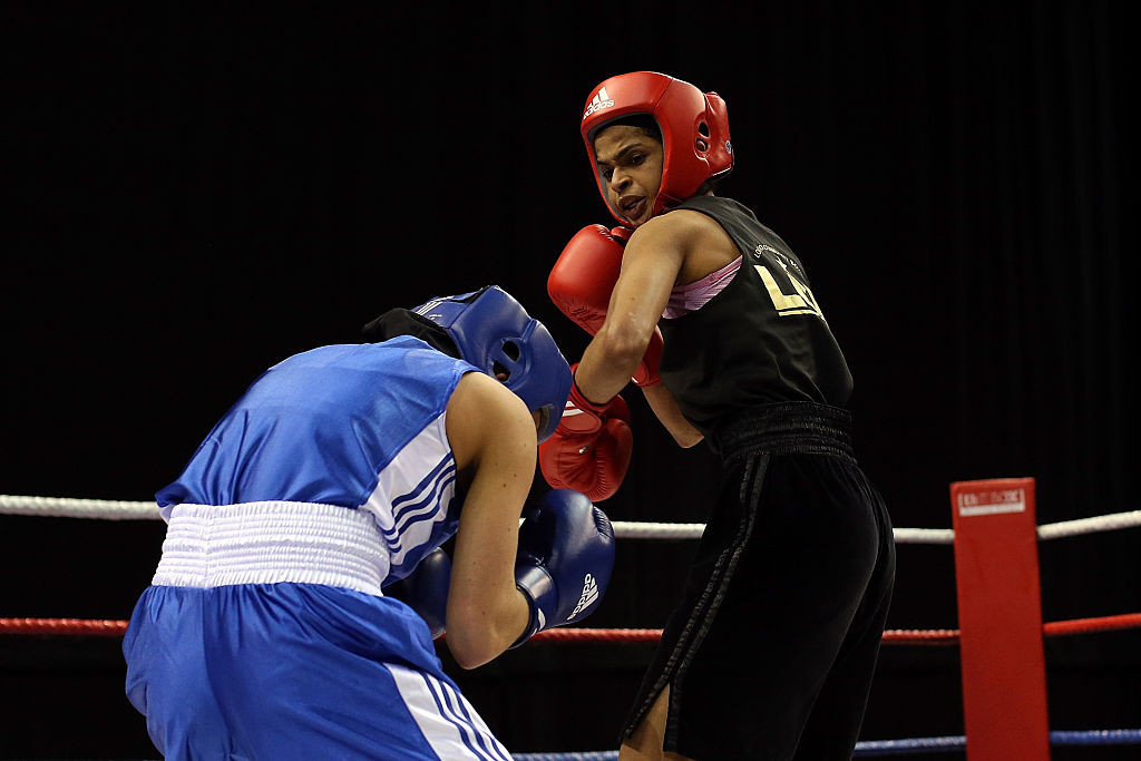 Somalian boxer Ramla Ali, red, said the advice from the IOC had been