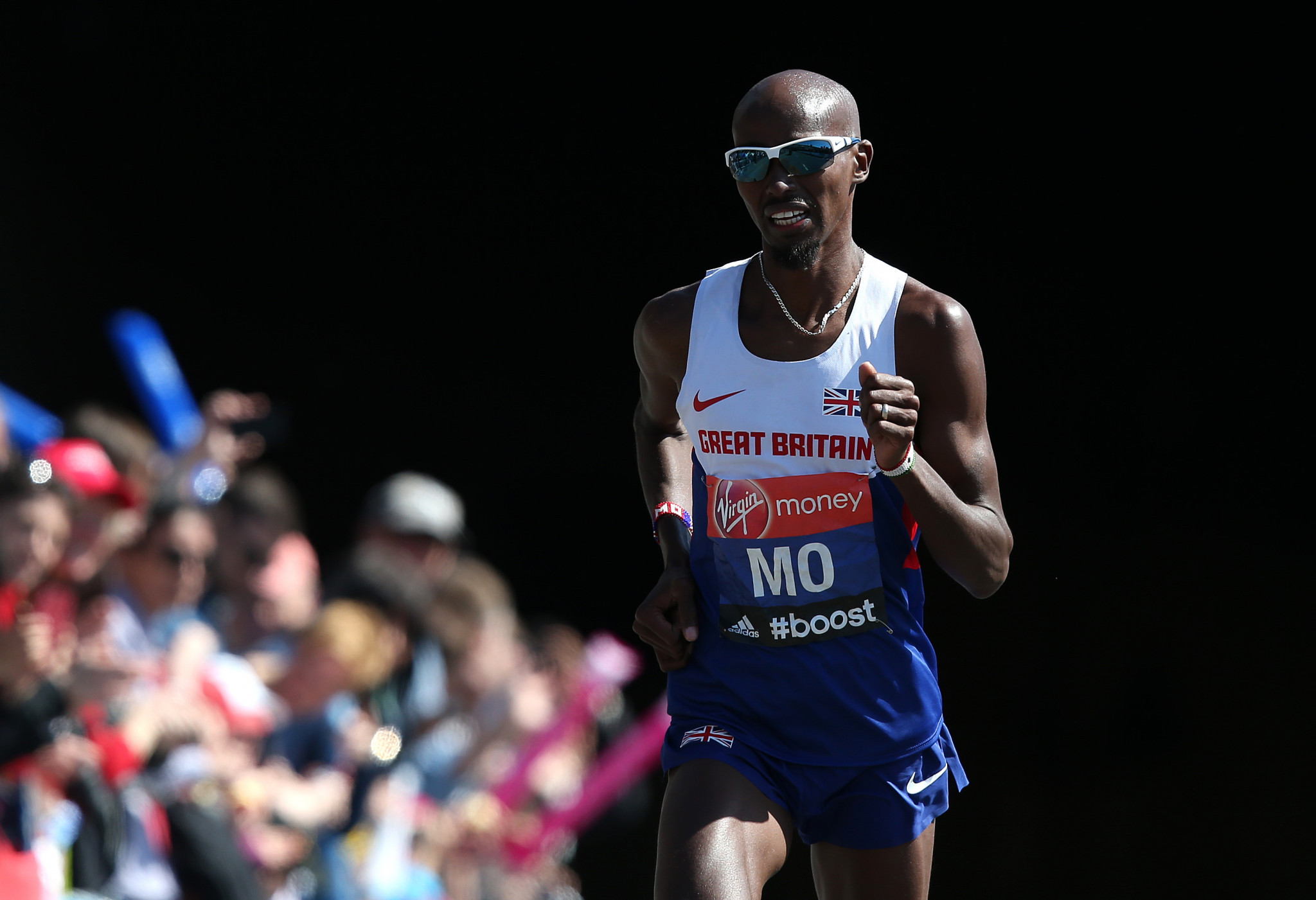 Rob Chakraverty admitted to failing to properly record a series of L-carnitine injections given to Sir Mo Farah before the London Marathon in 2014  ©Getty Images