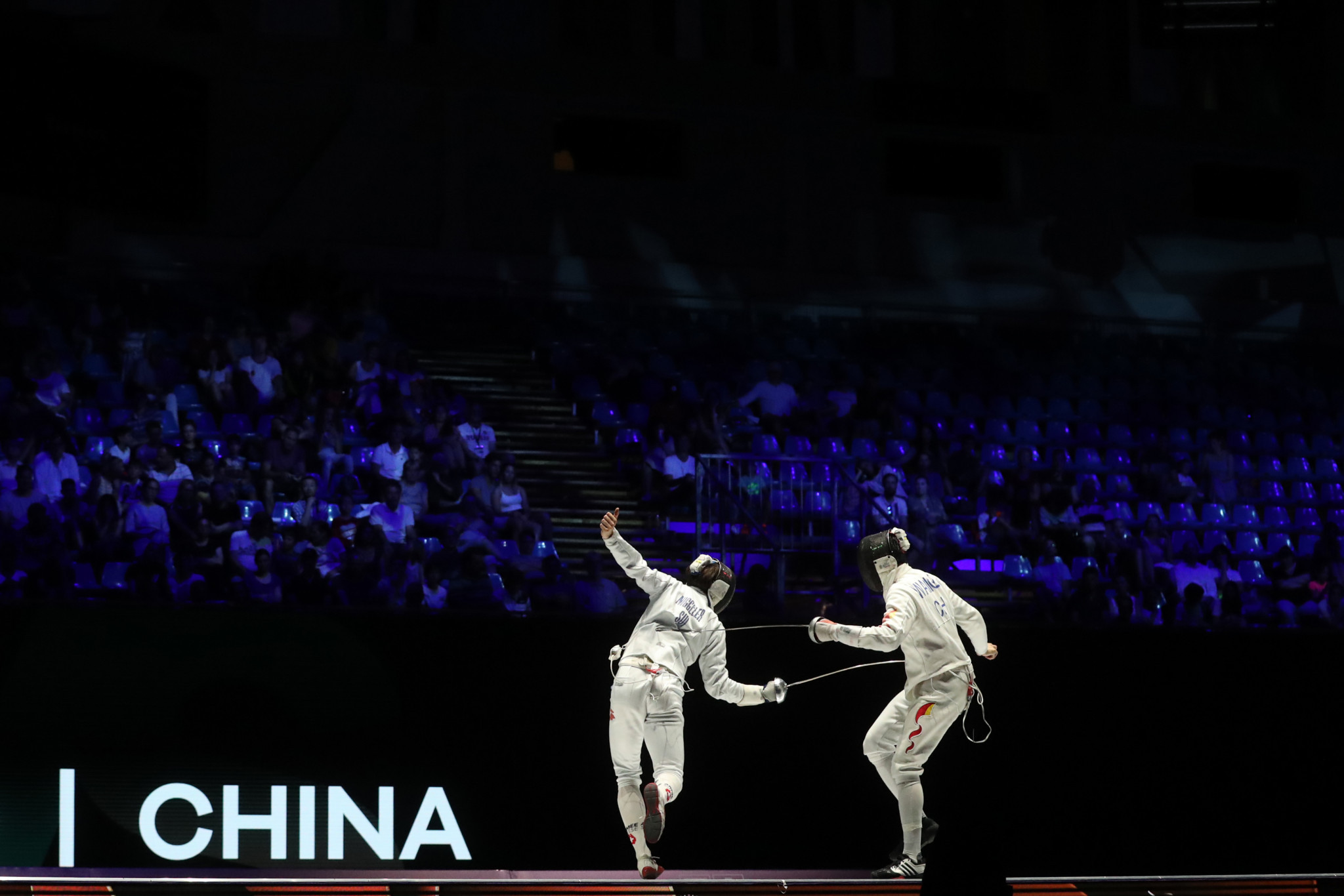 Chinese fencers test positive for coronavirus following Olympic qualifier in Budapest