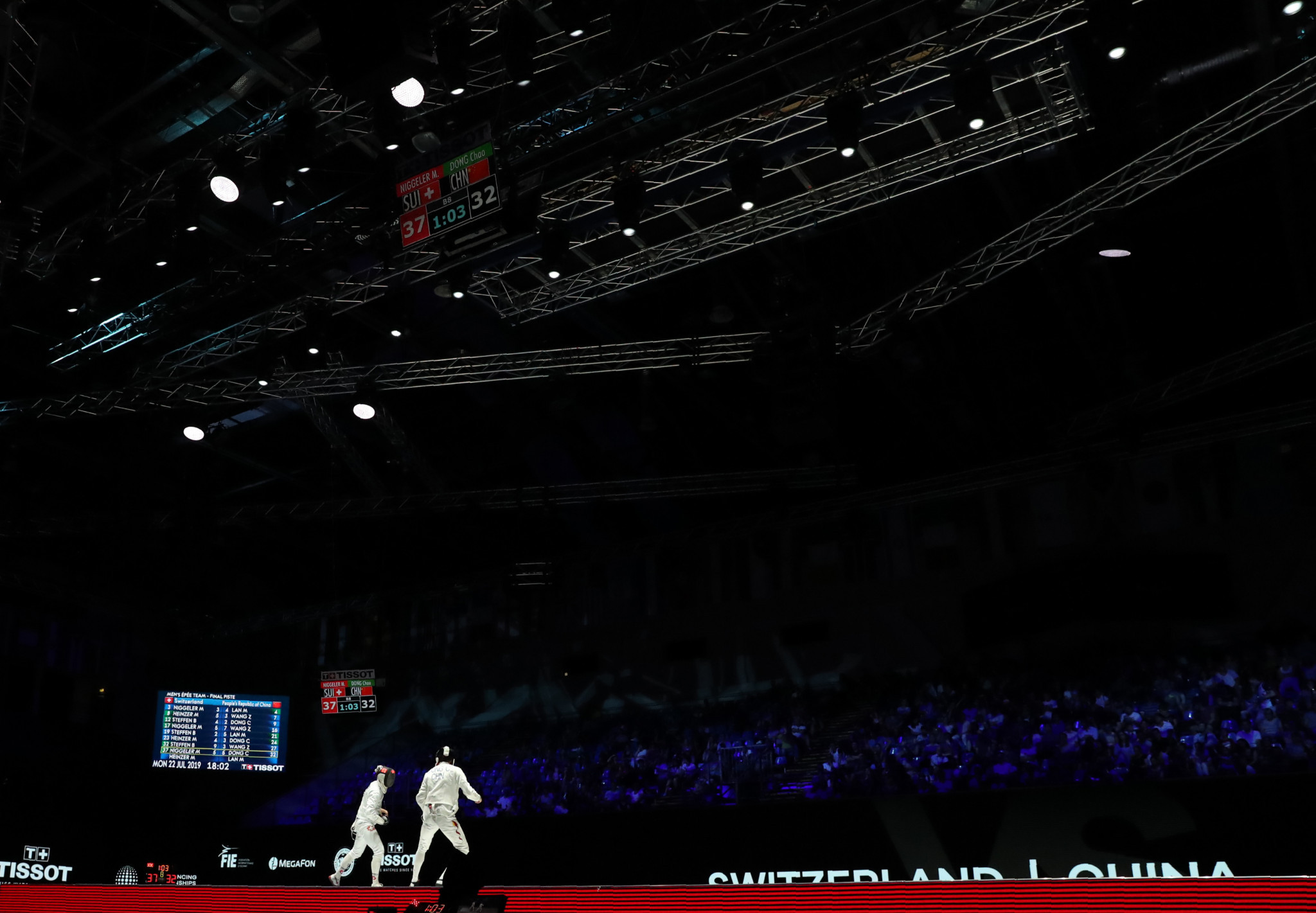 A number of fencers competing at the FIE Fencing Grand Prix in Budapest have tested positive for coronavirus ©Getty Images