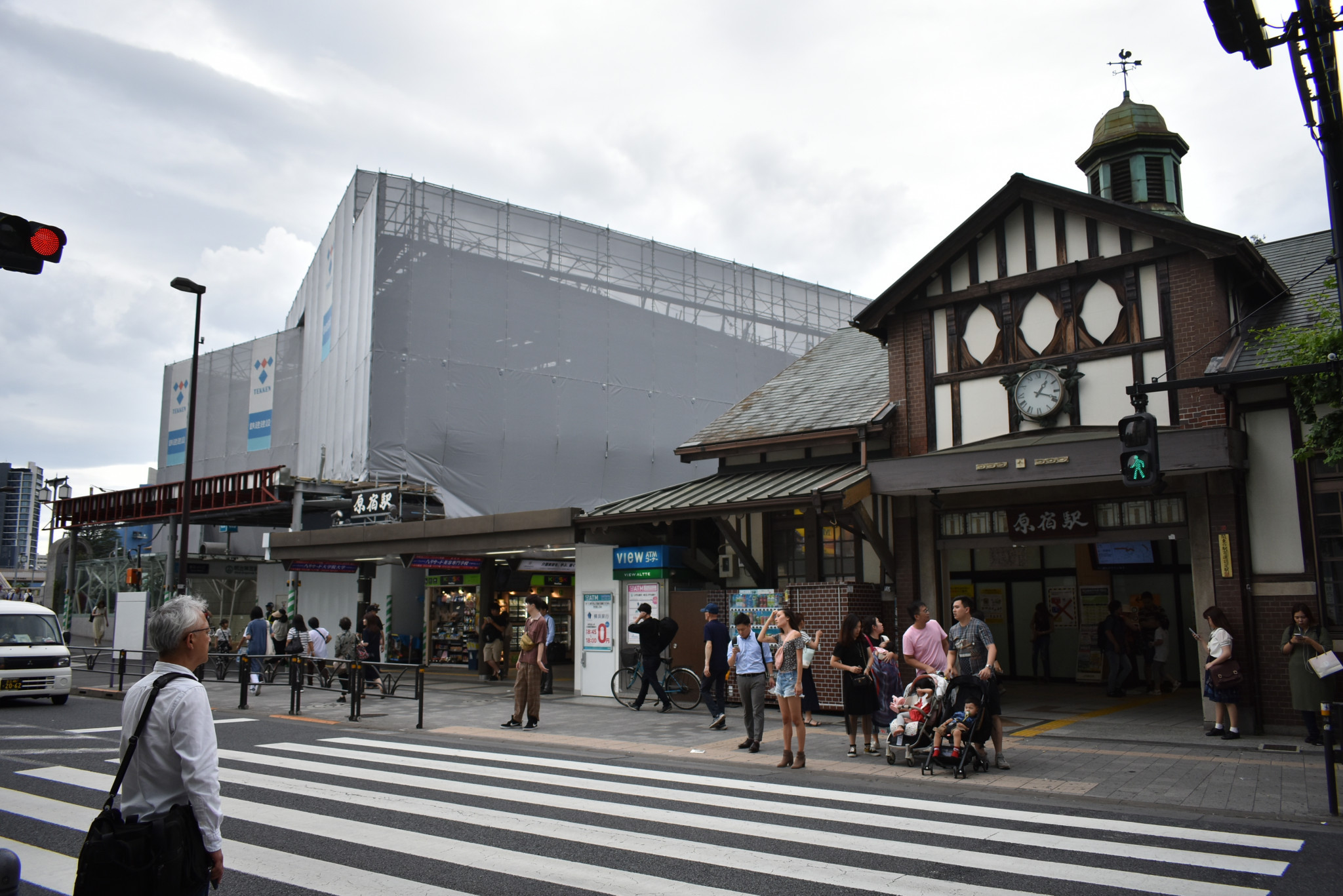 New Harajuku Station building opens in time for Tokyo 2020