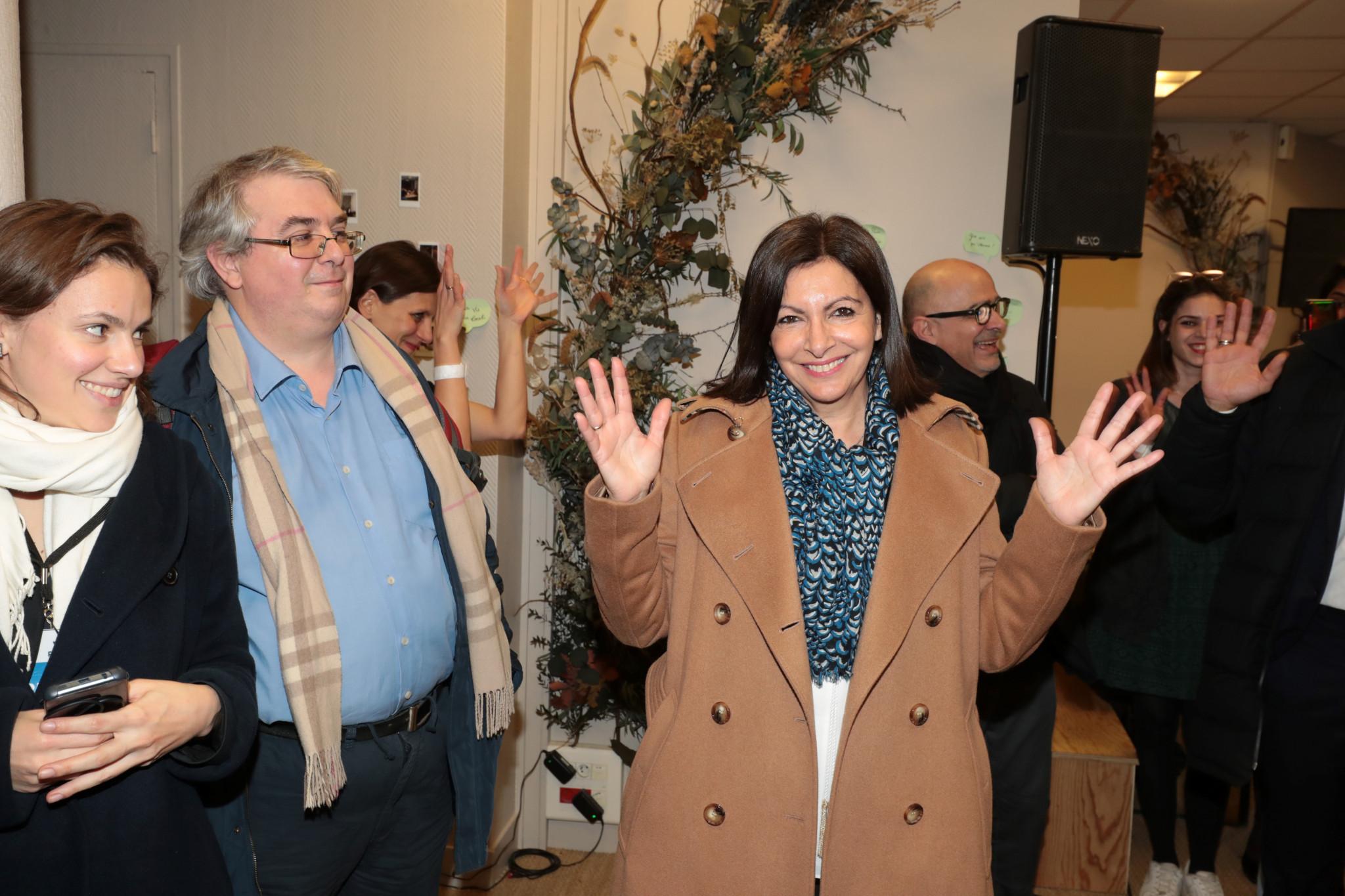 Incumbent Paris Mayor Anne Hidalgo had een ahead after the first round of voting