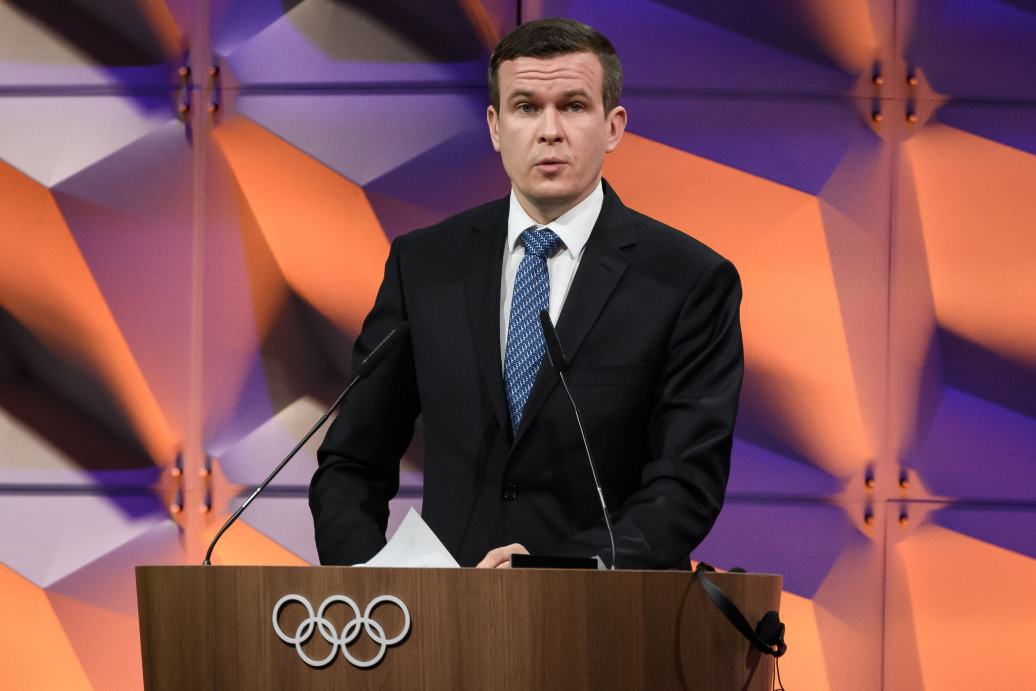 WADA President Witold Bańka stressed the first priority must be health and safety ©Getty Images