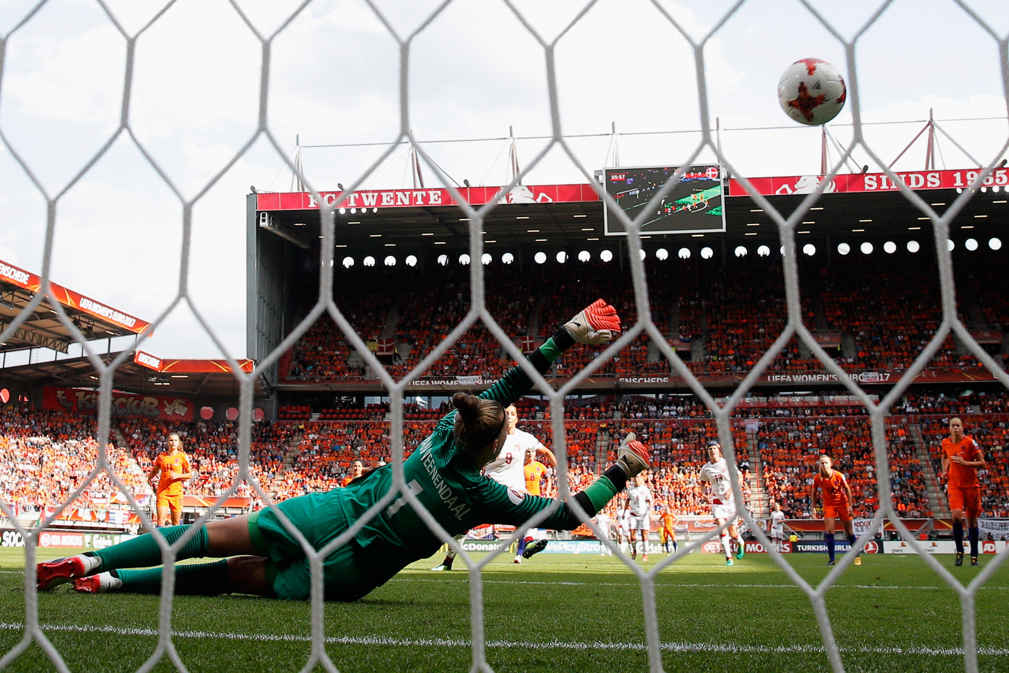 Moving the Women's Euros to 2021 could result in more attention and coverage for the tournament, making it as successful as the 2017 edition in The Netherlands ©Getty Images