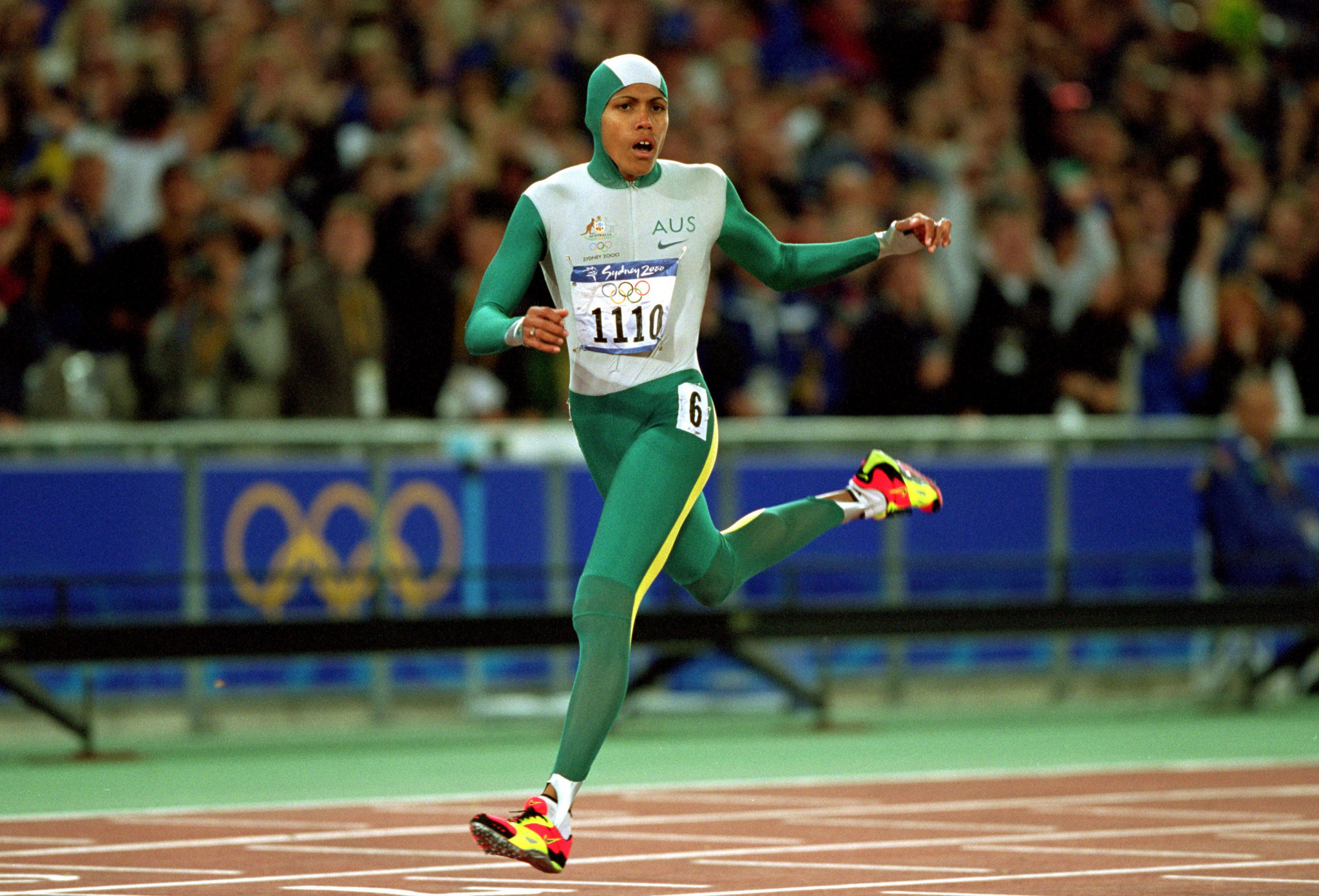 Cathy Freeman was a big inspiration for Dika Toua ©Getty Images