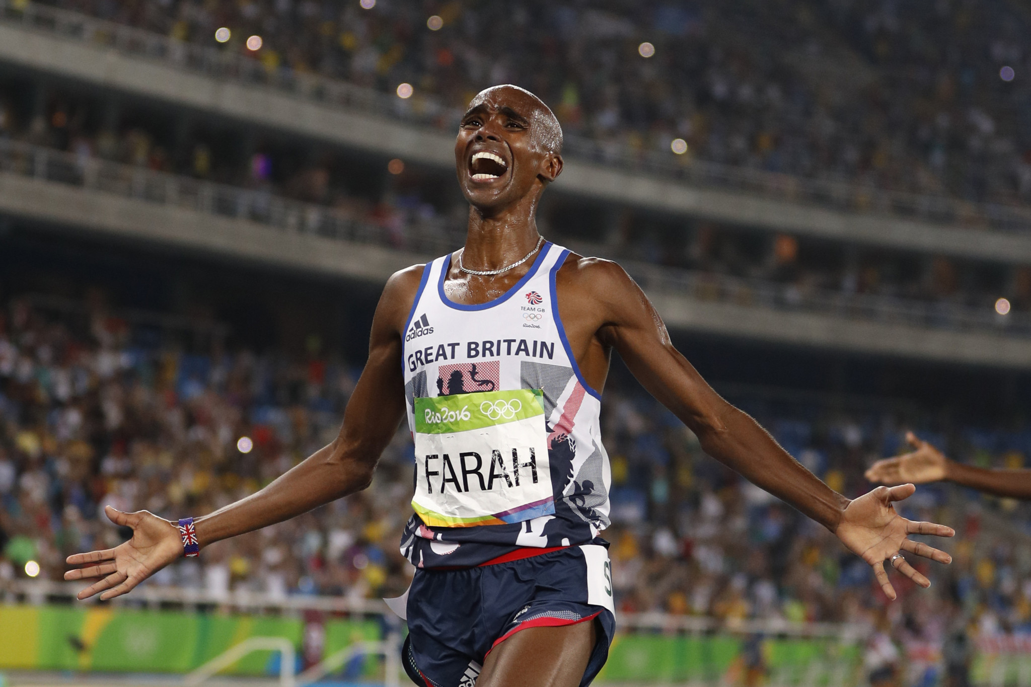 Sir Mo Farah became a four-time Olympic champion with Alberto Salazar as coach ©Getty Images