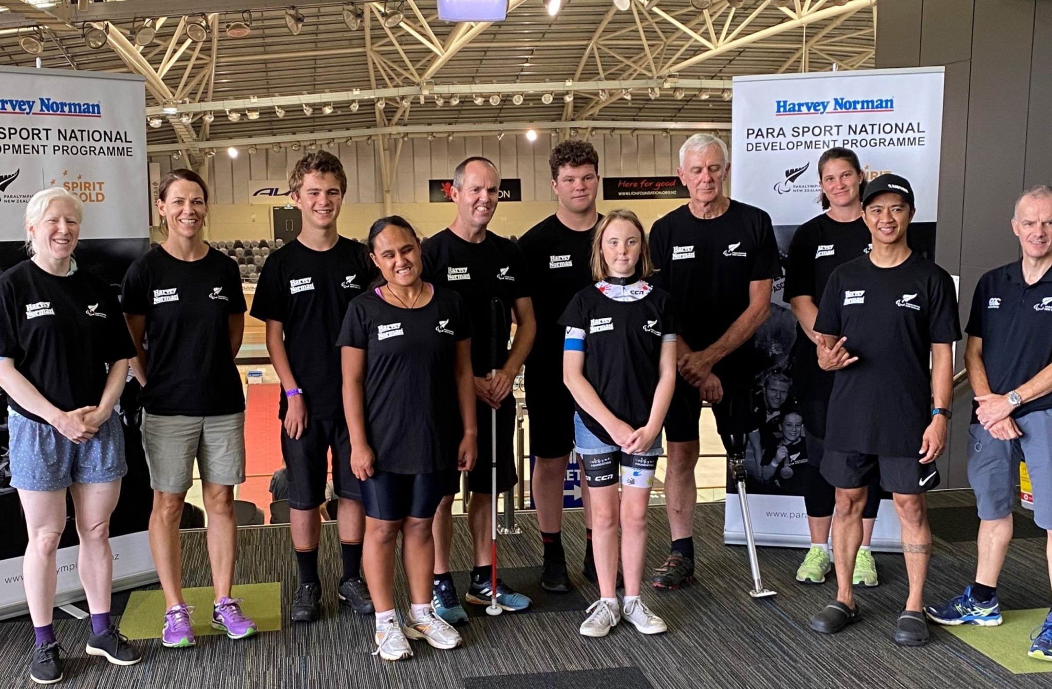 Paralympics New Zealand held a three day talent ID camp for budding para cyclists ©Paralympics NZ