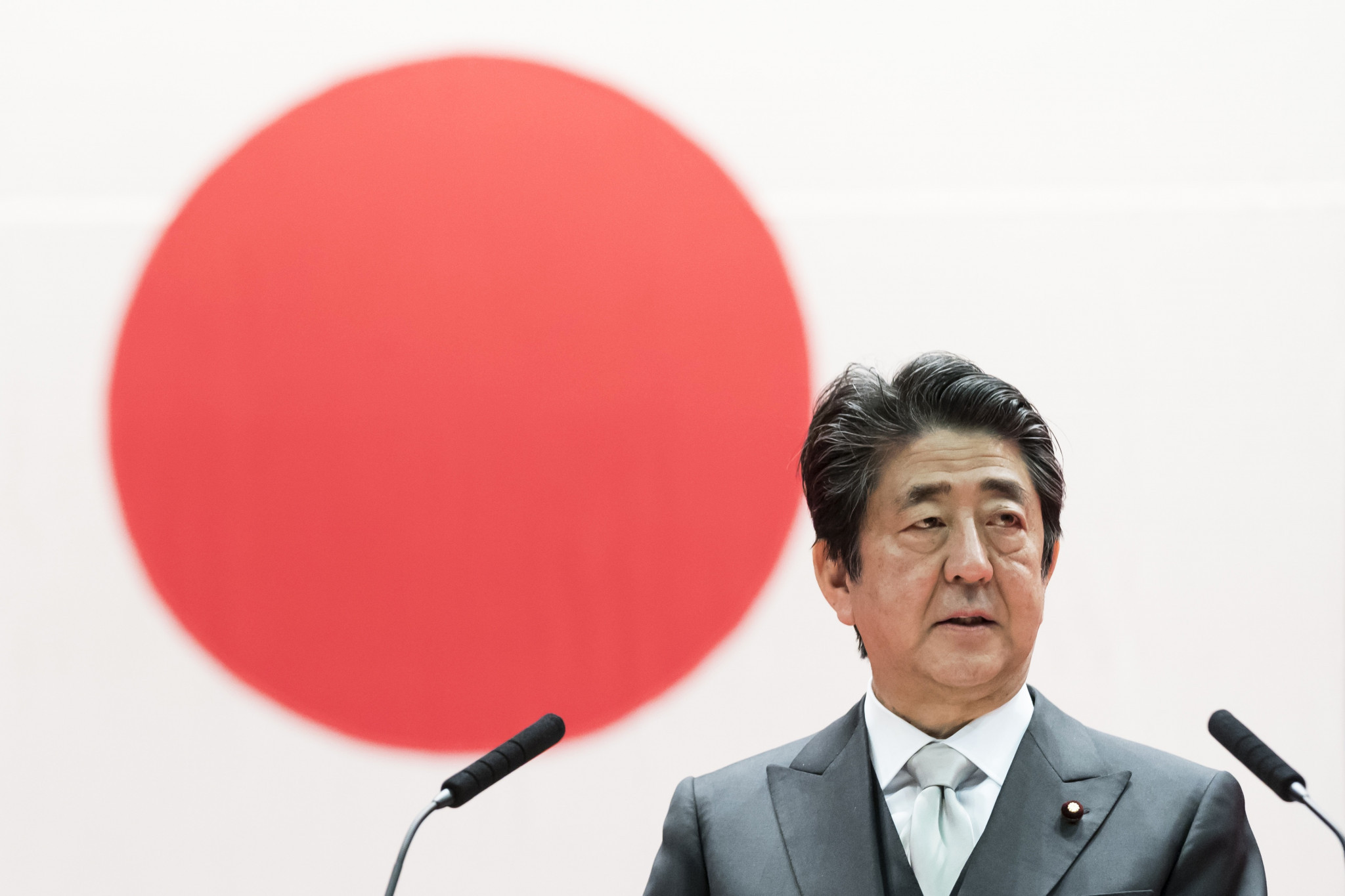 Abe suggests for first time that Tokyo 2020 could be postponed