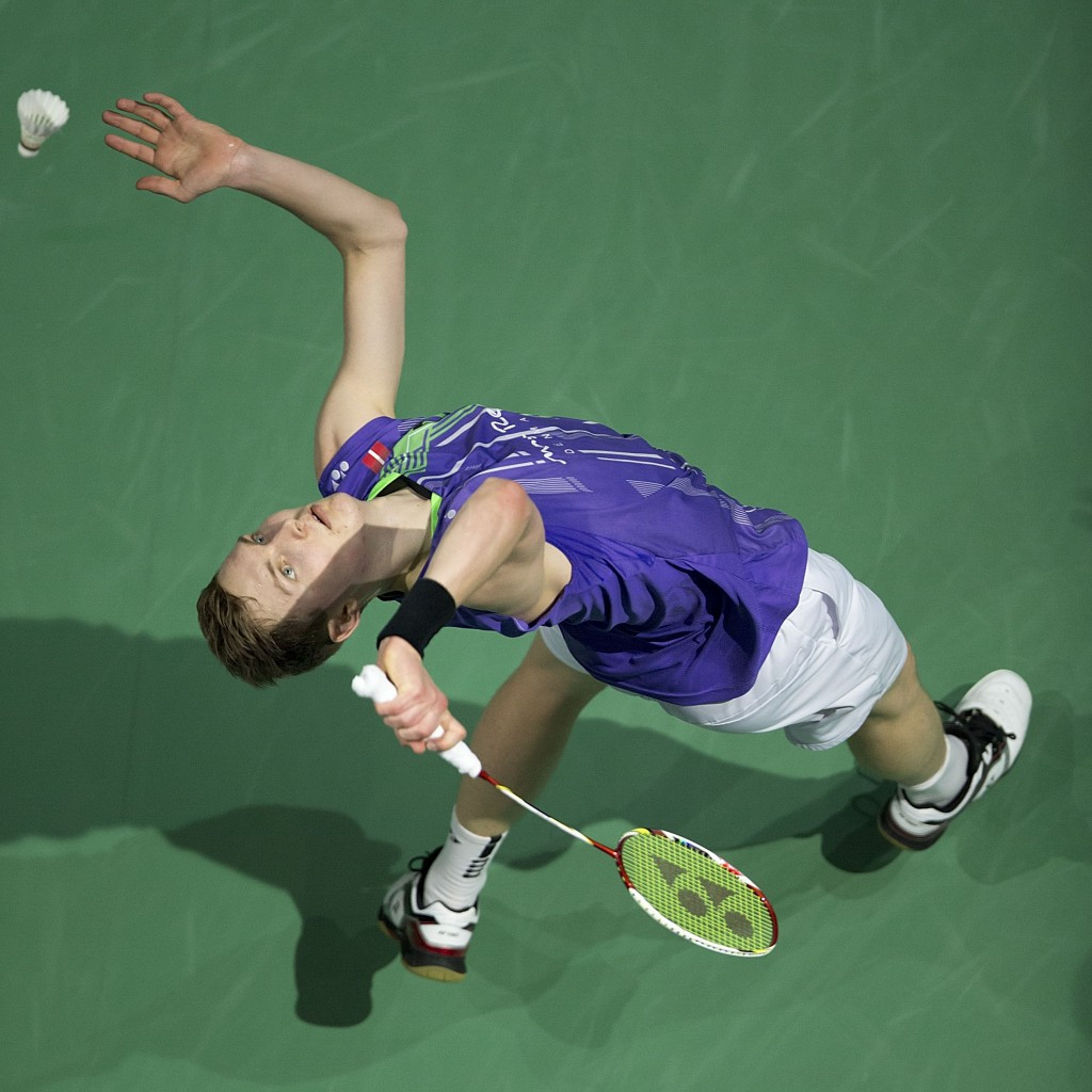 Axelsen downs world number one Long to reach final of BWF Superseries Finals