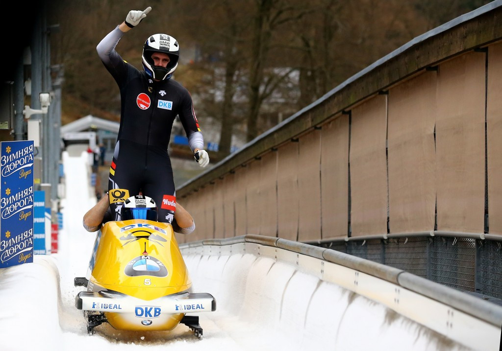 Friedrich guides German duo to a hat-trick of Bobsleigh World Cup wins