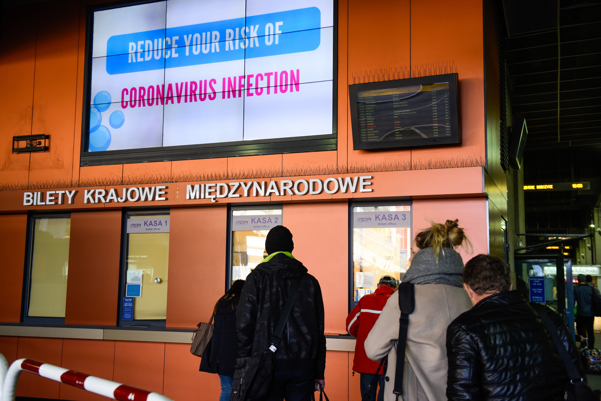 Measures have been put in place to stop the spread of coronavirus ©Getty Images