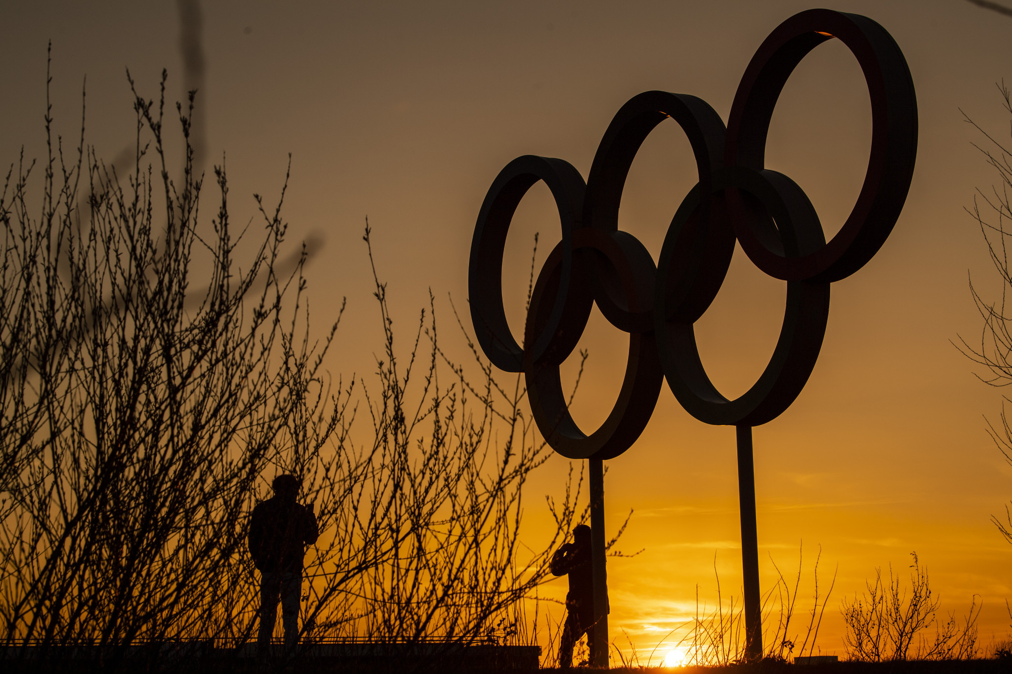Queen Elizabeth Olympic Park in London remains open, but its playgrounds are shut ©Getty Images