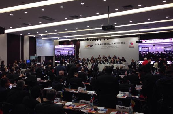 Taekwondo withdrew from SportAccord during today's General Assembly ©WTF