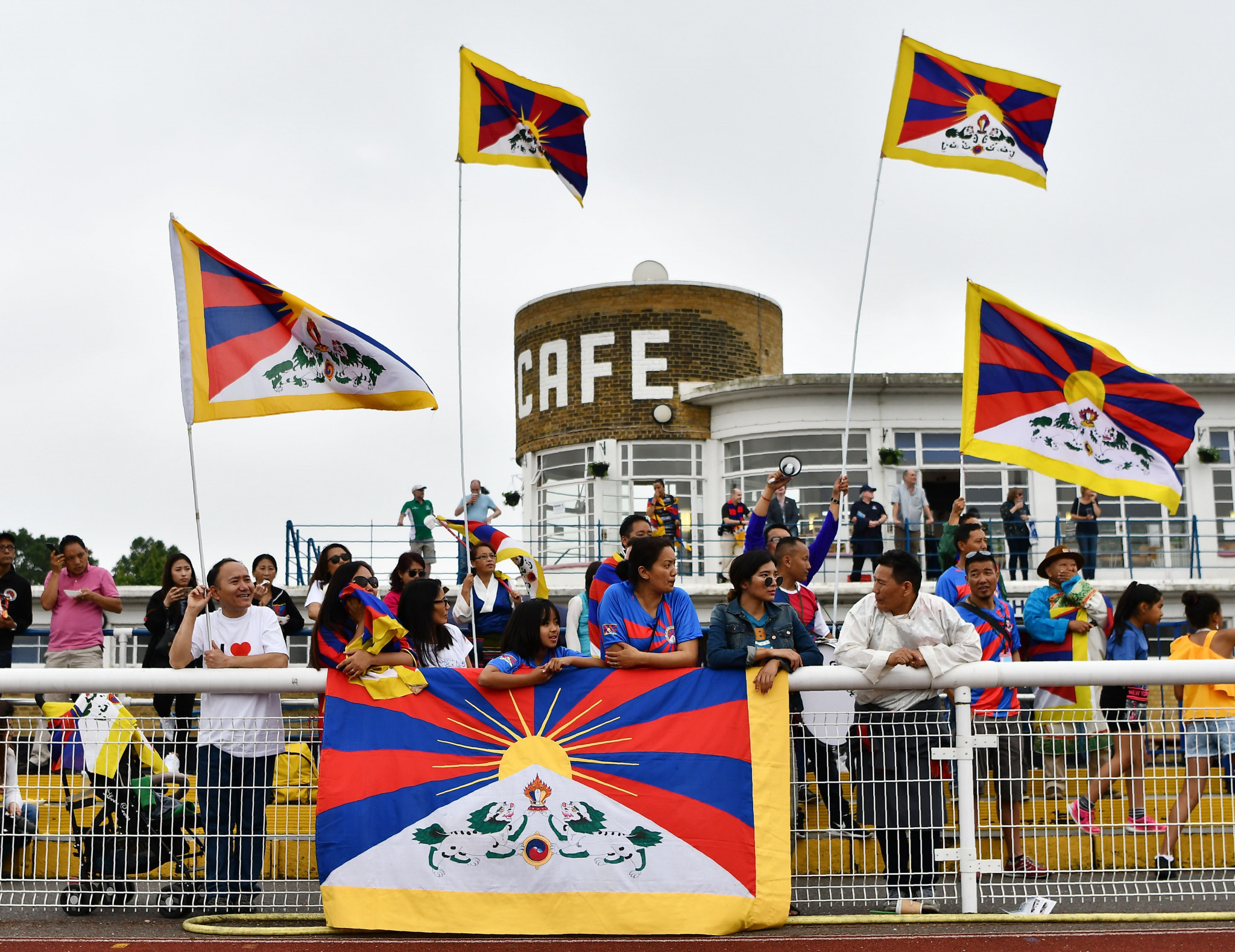 The event is for football federations from outside of FIFA, such as Tibet ©Getty Images