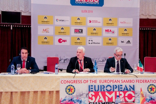 The European Sambo Federation Congress has also been moved to September 17 ©ESF