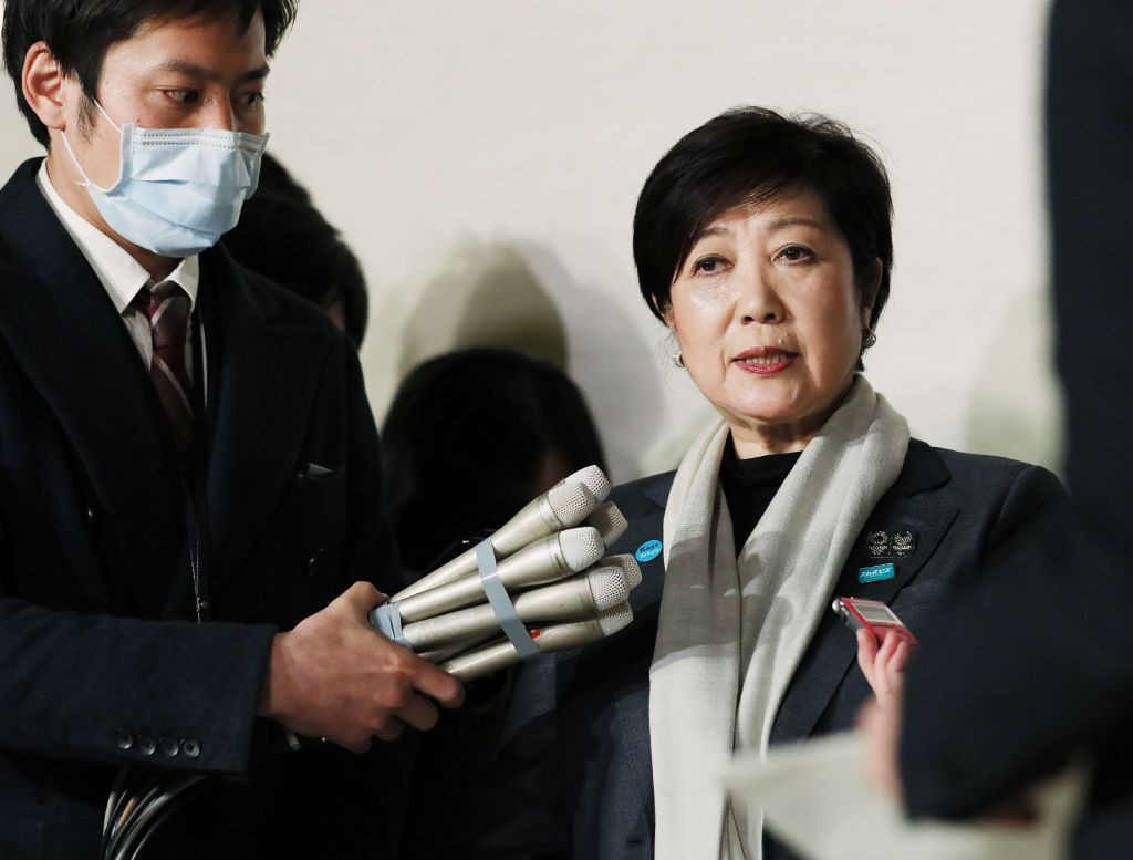 Tokyo Governor Yuriko Koike believes it was the right decision to postpone the Olympic Games ©Getty Images