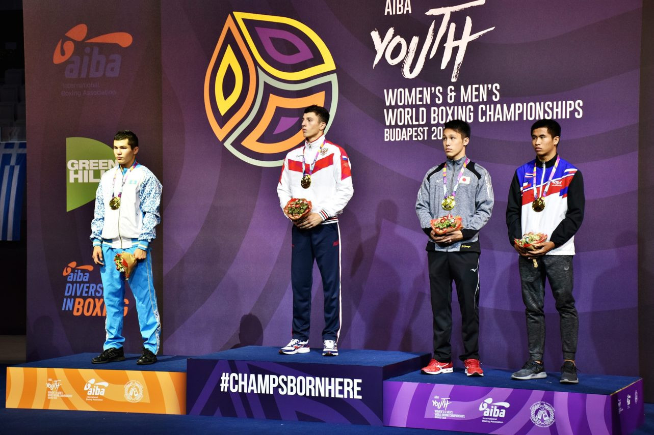 Russia topped the medal table at the 2018 Youth World Boxing Championships in Budapest ©AIBA