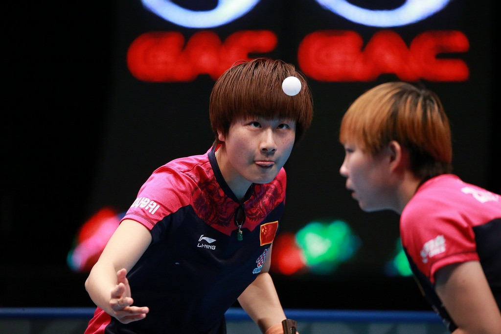 Ning and Yuling defeat holders to earn ITTF World Tour Grand Finals women's doubles crown