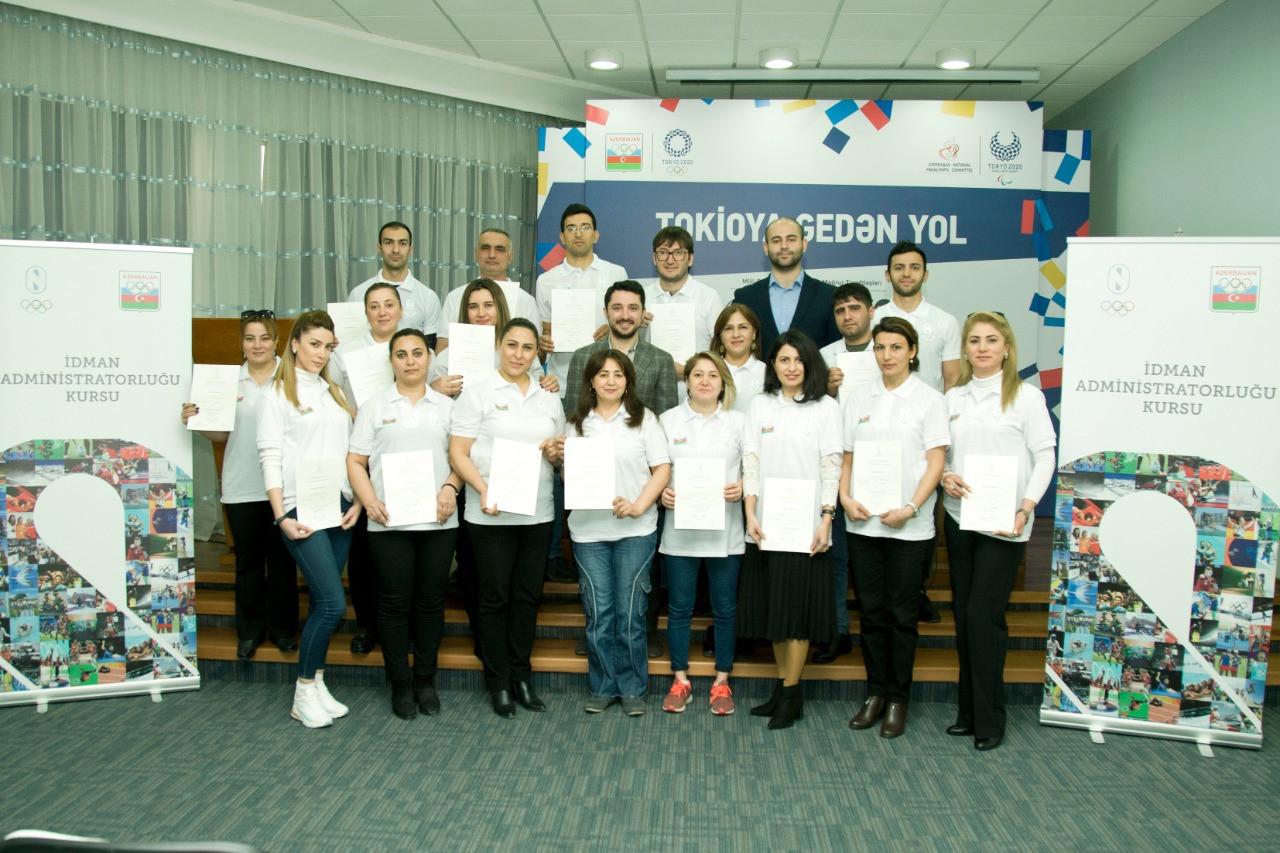 Azerbaijan NOC hosts sports administration course