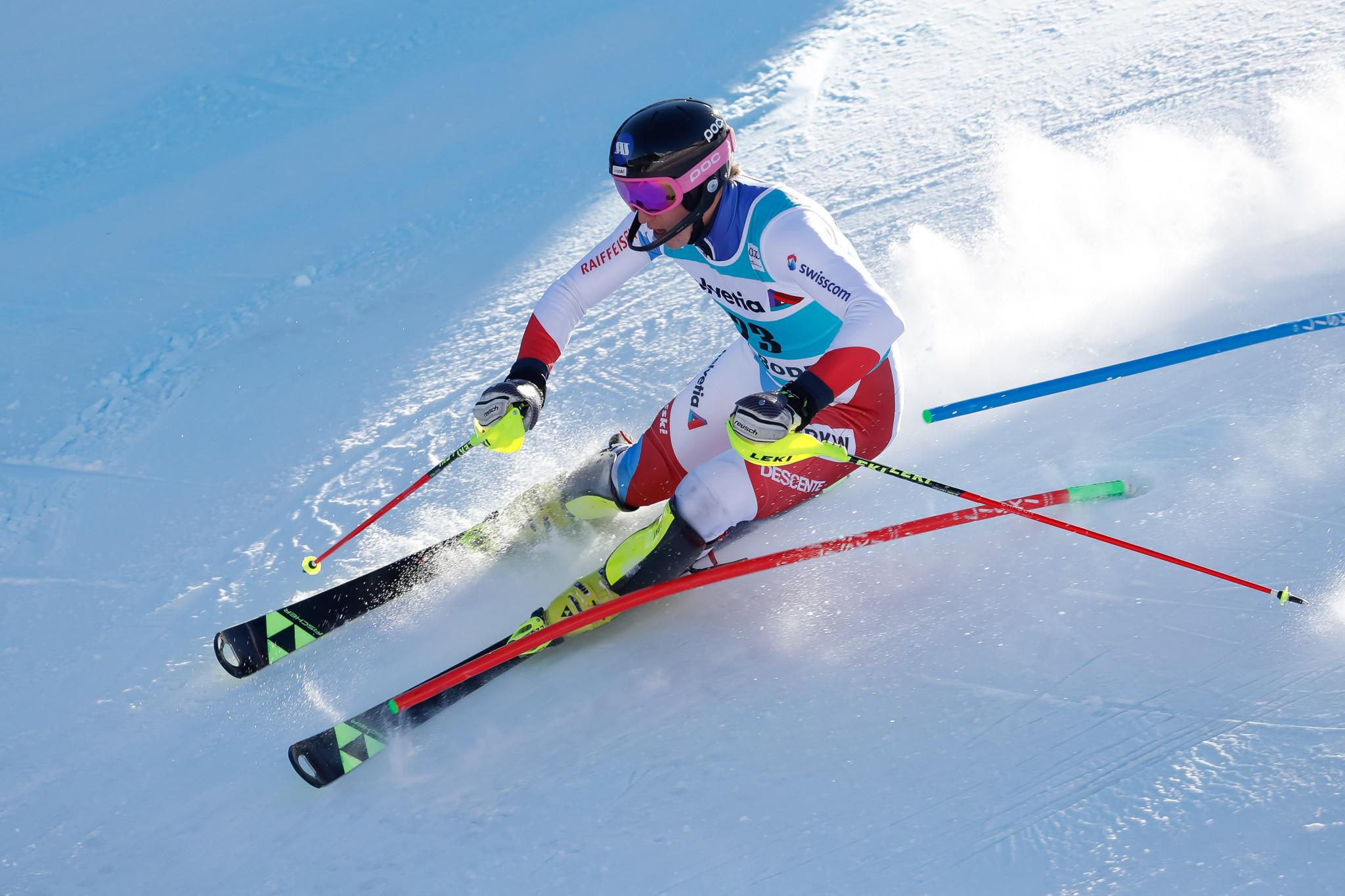 Swiss skier Nef wins International Matteo Baumgarten Award