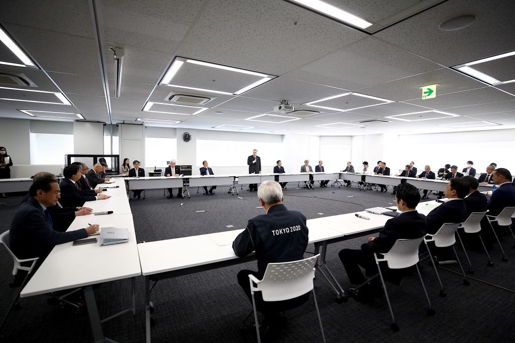 The new Tokyo 2020 taskforce met for the first time today ©Getty Images