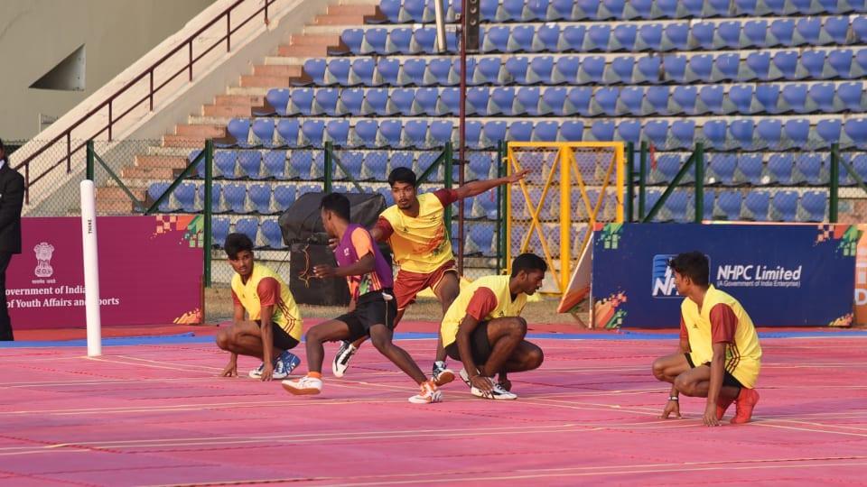 Kho kho is a traditional Indian sport ©IOC