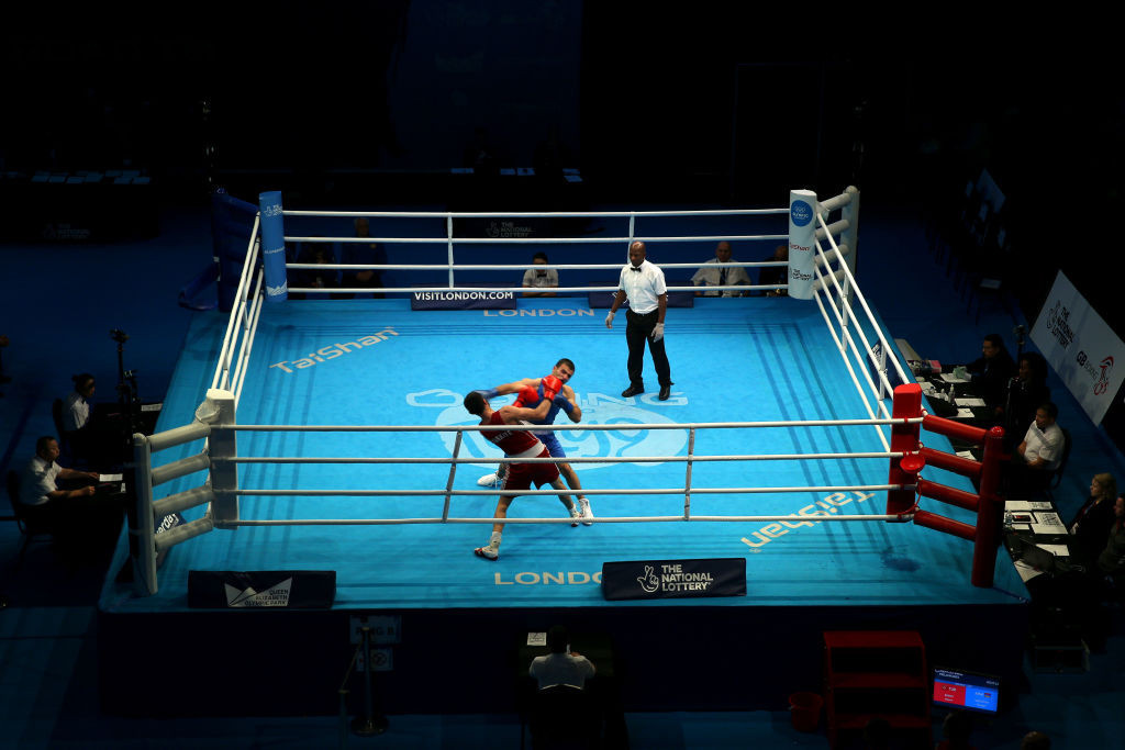 Athletes who competed at the European boxing qualifier in London have tested positive for coronavirus ©Getty Images