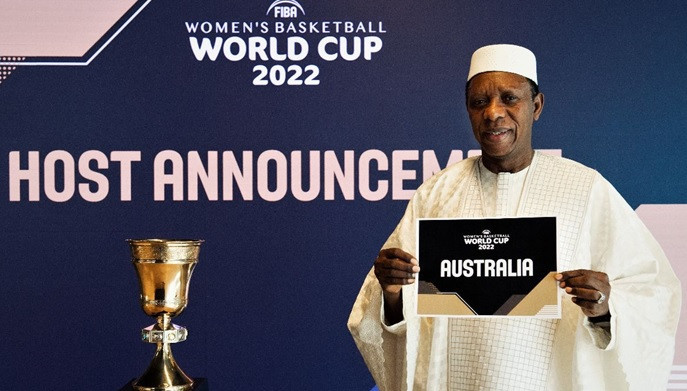 Australia announced as hosts of women's Basketball World Cup 2022