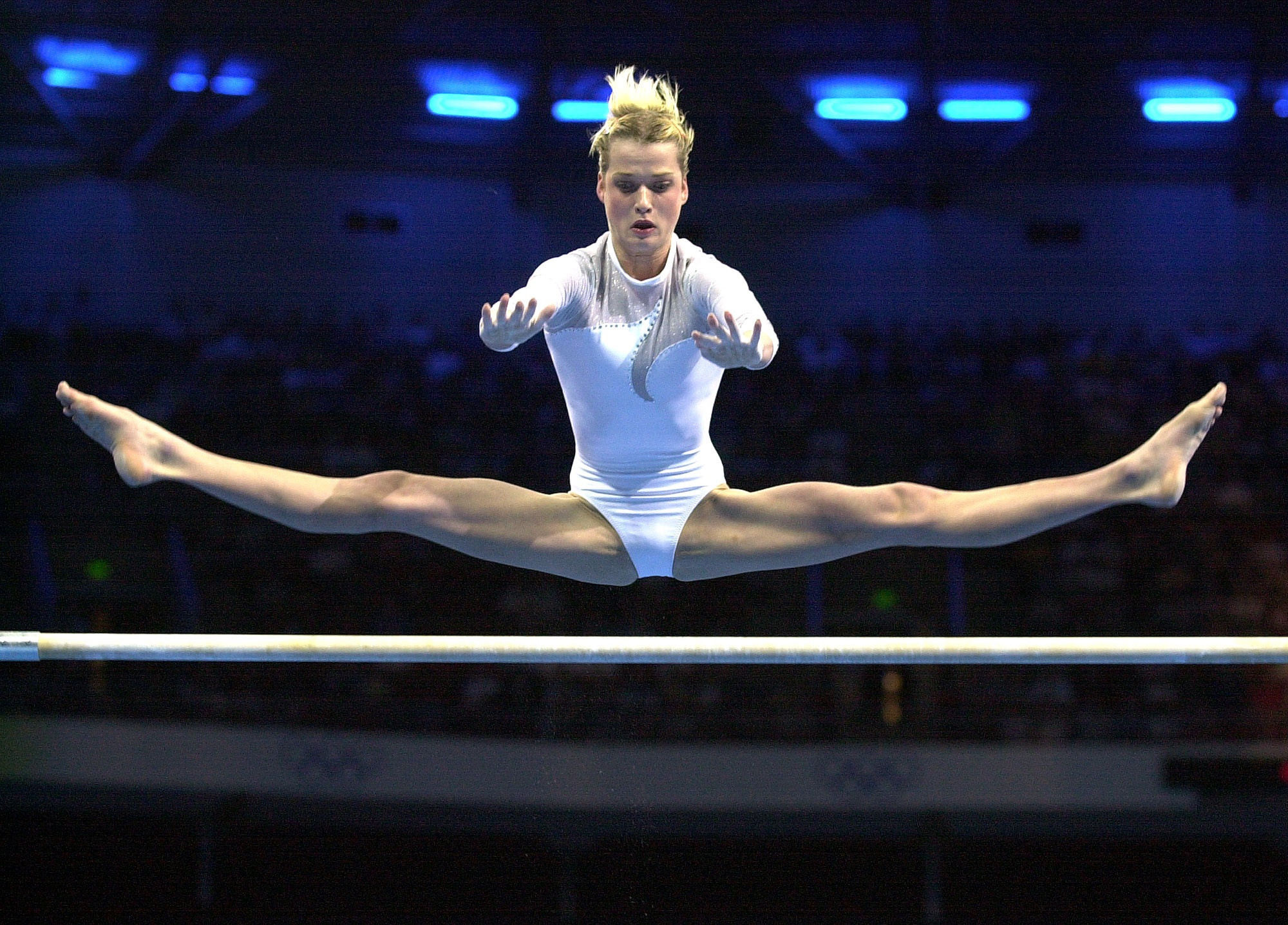 Svetlana Khorkina is a two-time Olympic gold medallist on uneven bars ©Getty Images