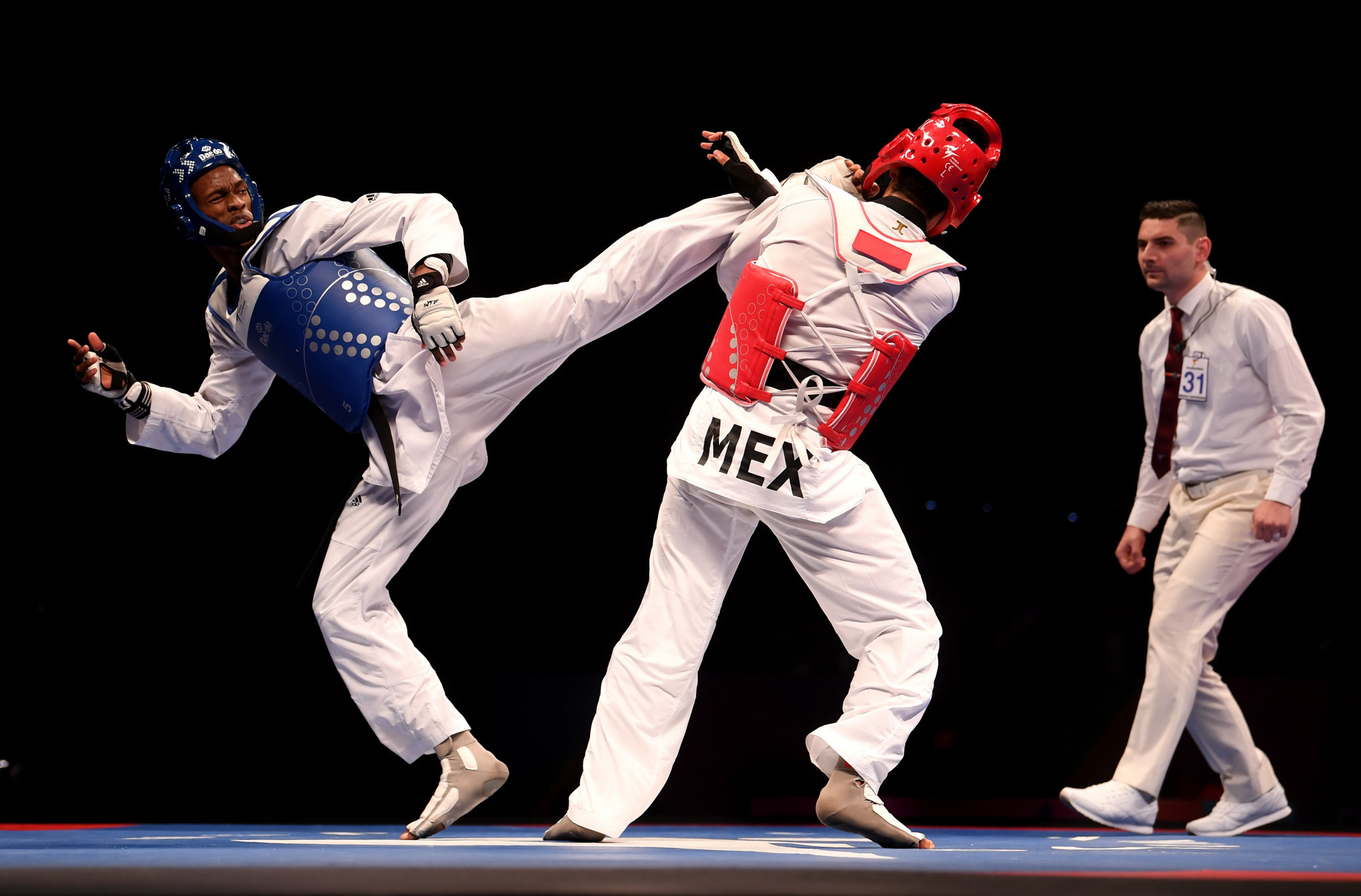 The next edition of the World Taekwondo Championships is due to take place in 2021 ©Getty Images