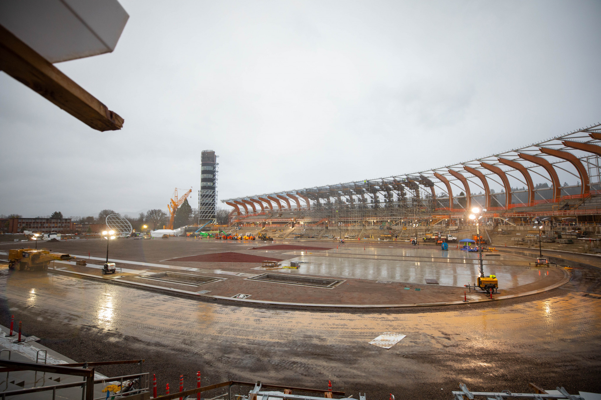 Hayward Field, being rebuilt specifically as an athletics stadium for the World Championships in Oregon, could well stage the event in 2022 ©Oregon 2021
