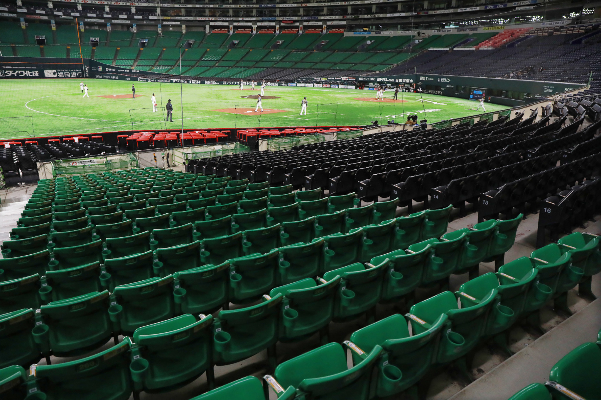 The Nippon Professional Baseball season is expected to begin on April 24 ©Getty Images