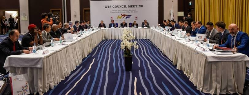The WTF Council unanimously agreed to suspend their SportAccord membership, before confirmation at today's General Assembly ©WTF
