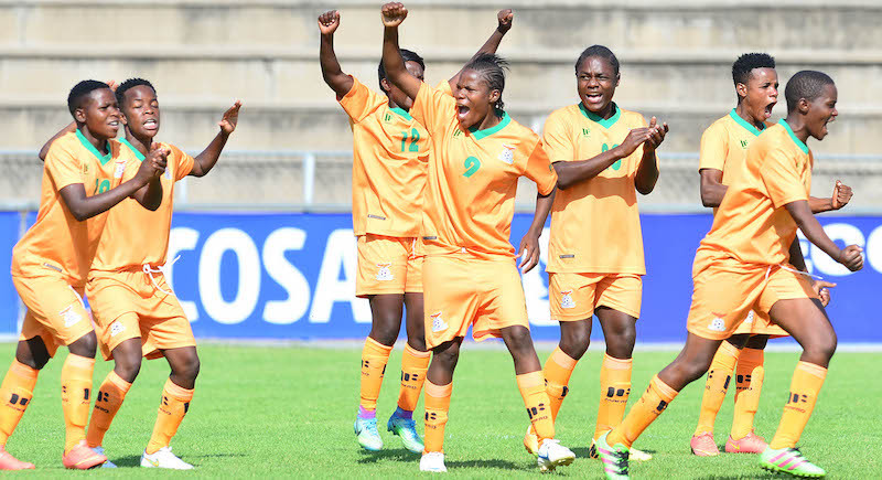Zambia shoot up FIFA women's world rankings after Olympic qualification